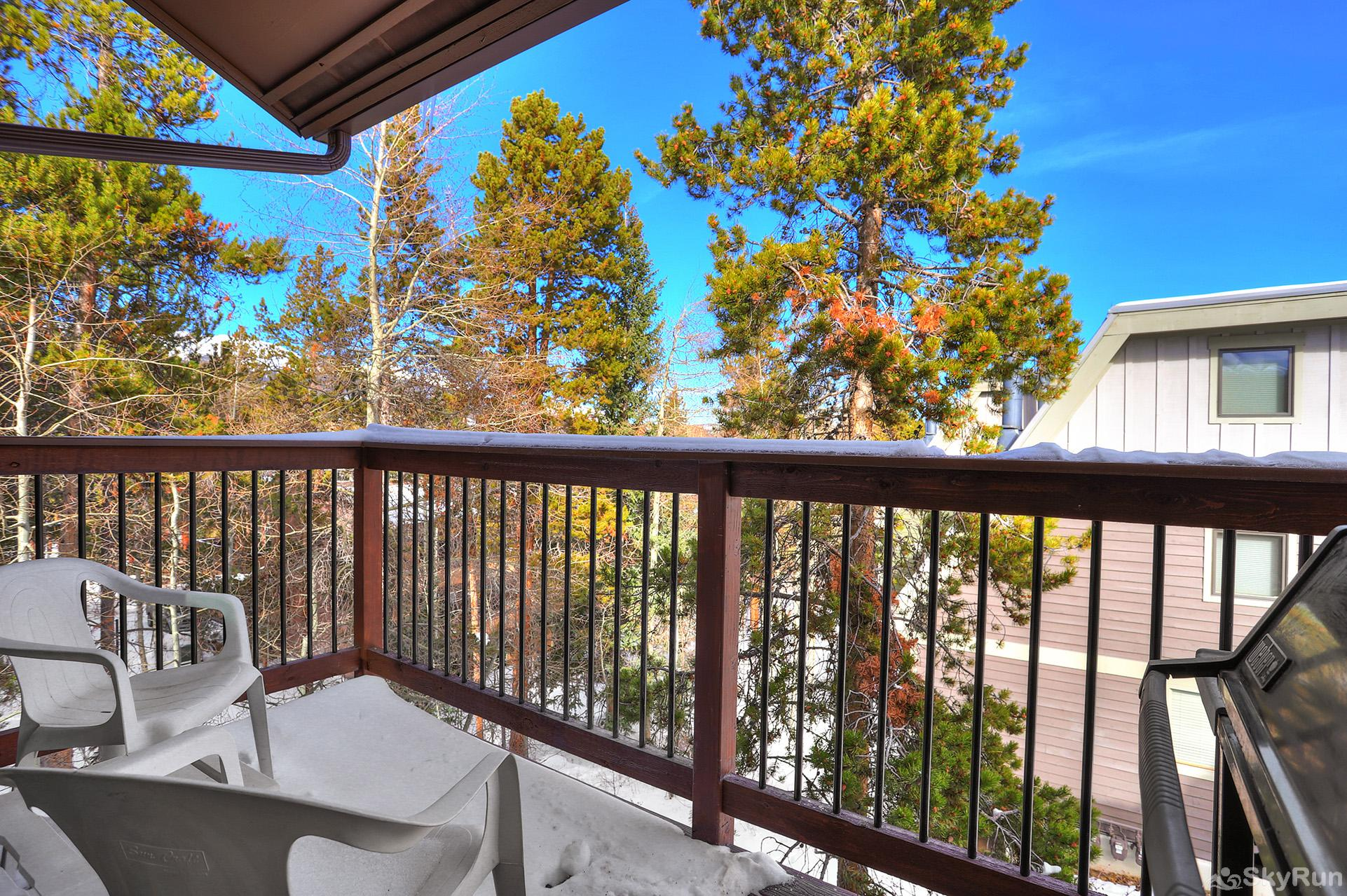Lances West 13 Private balcony with a view