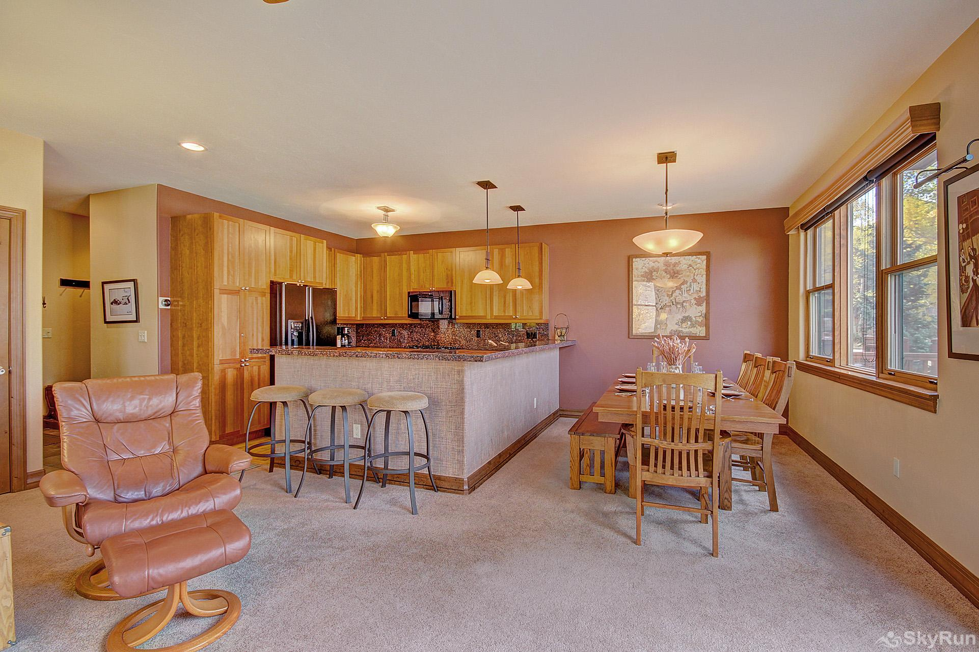 Highland Greens Spruce Open floor plan is perfect for socializing with family and friends