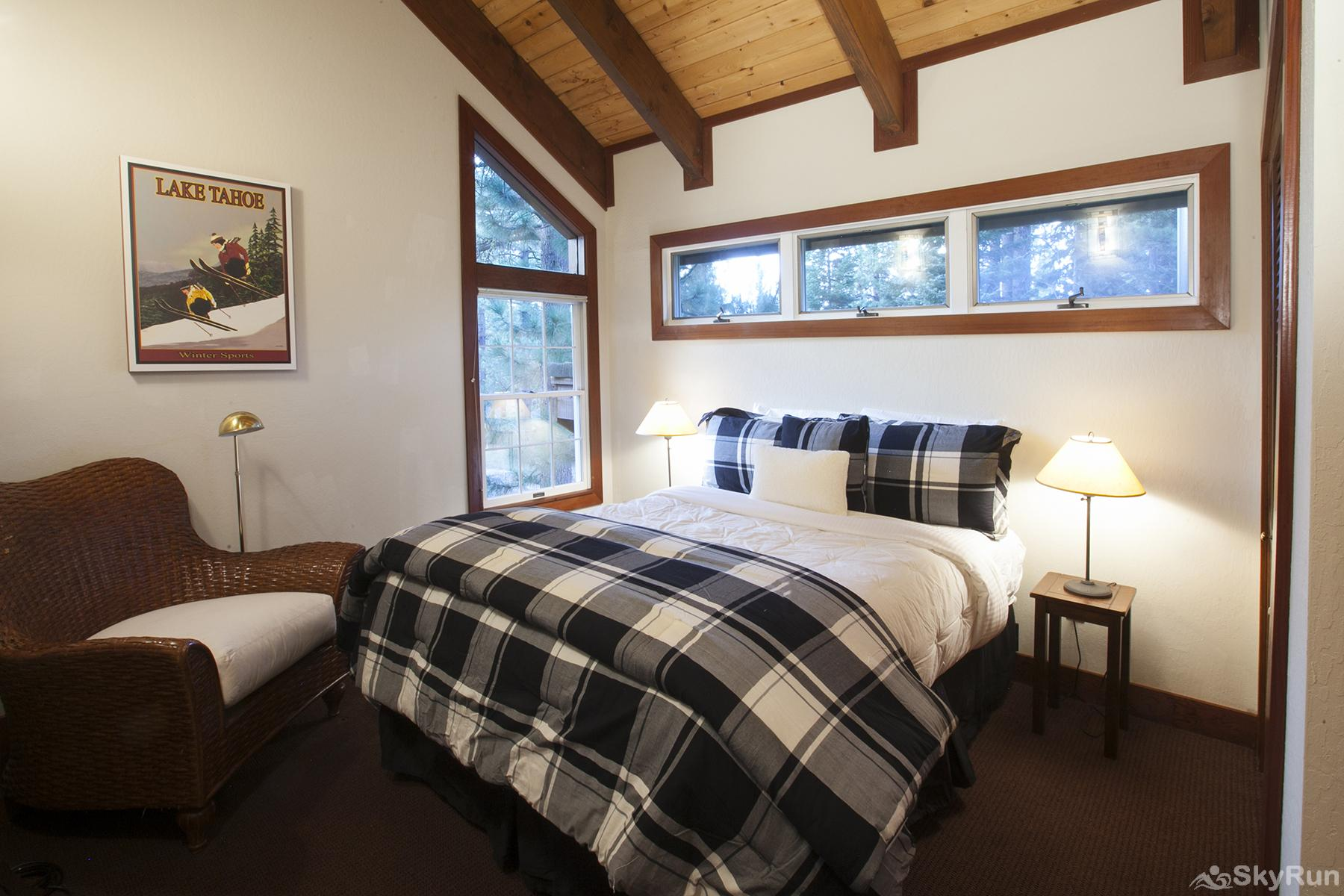 Luxury Lodgepole Home at Northstar Guest Bedroom 4 (upper level)
