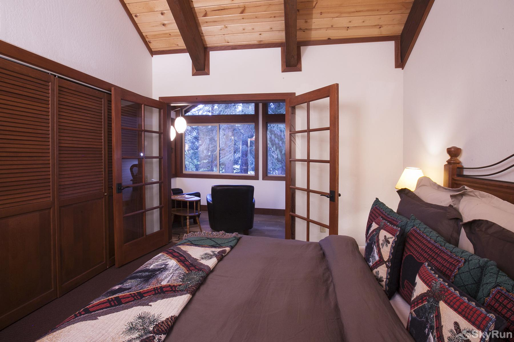 Luxury Lodgepole Home at Northstar Mater Ensuite Bedroom 2 (alt view)