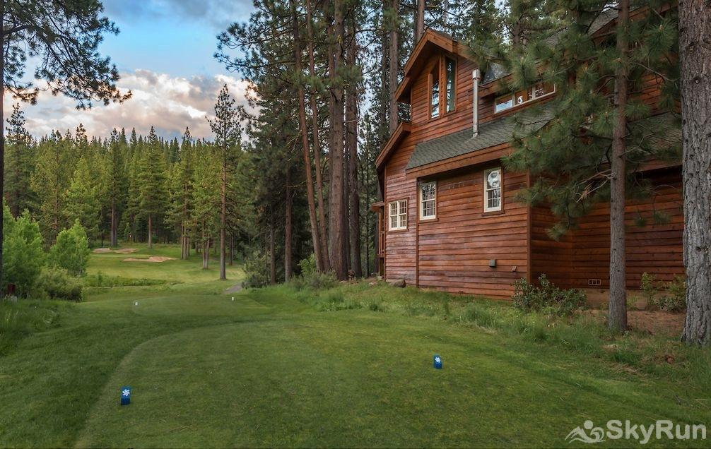 Luxury Lodgepole Home at Northstar Located on the 13th Green