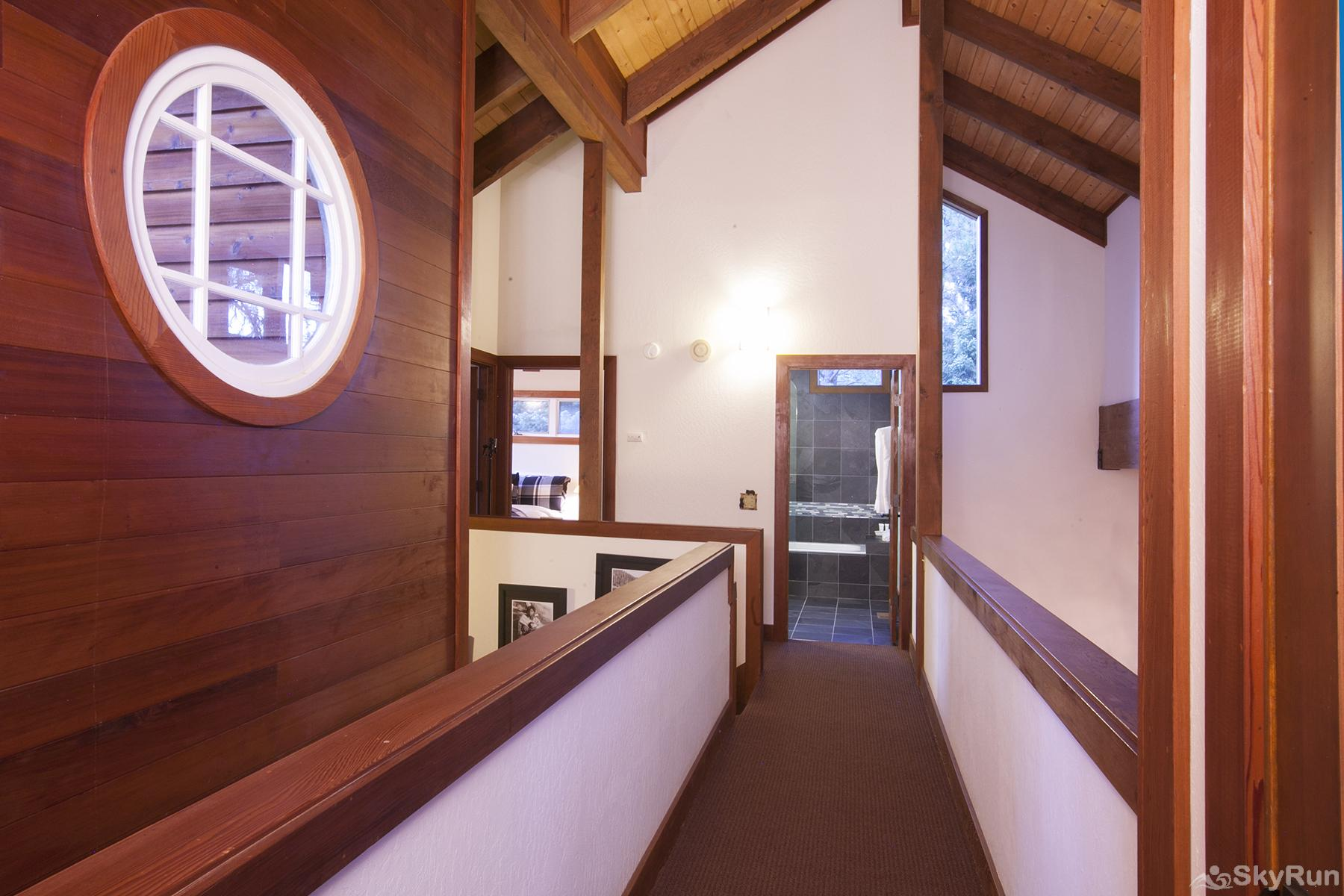 Luxury Lodgepole Home at Northstar Hallway (upper level)