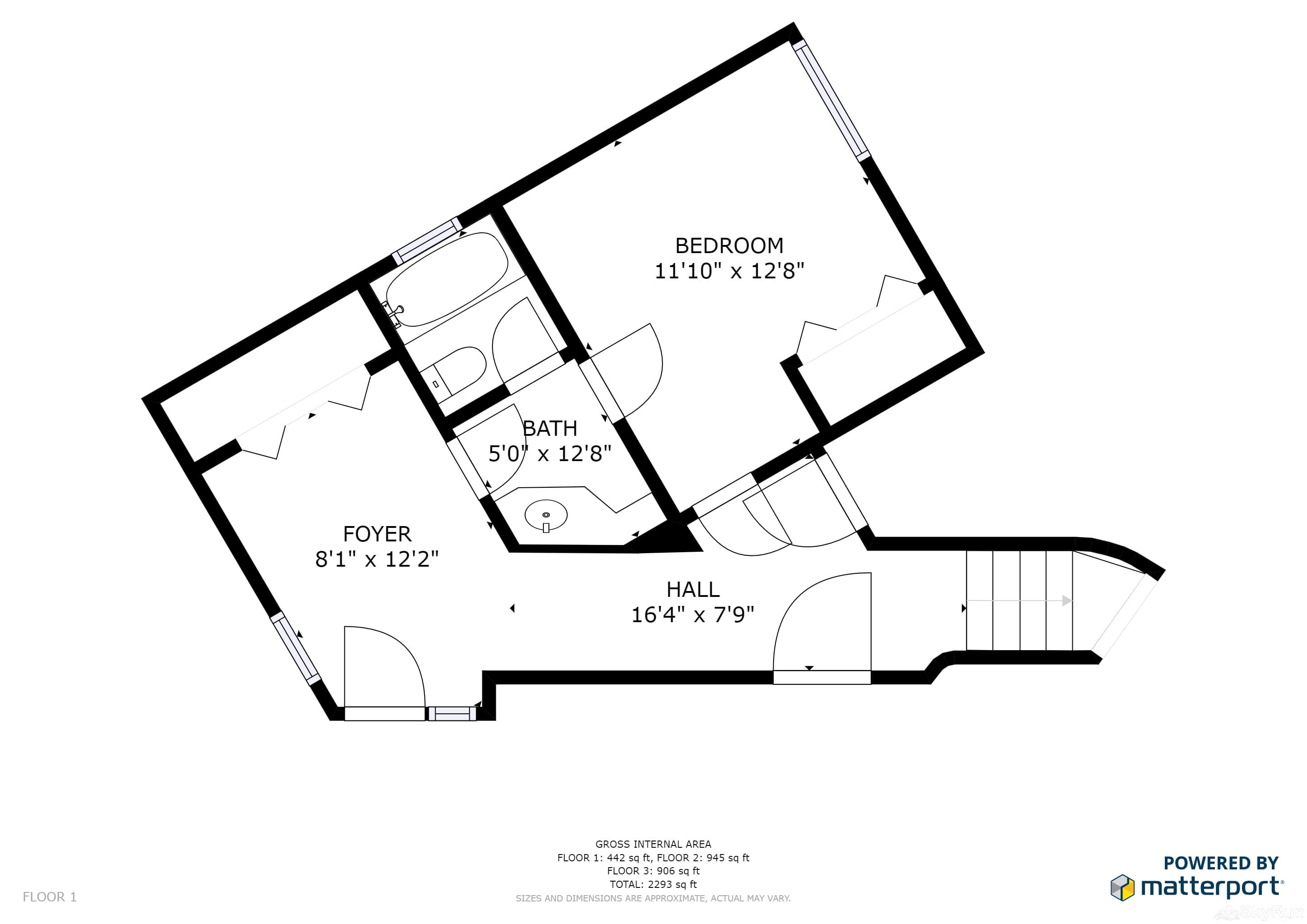 Silverado Lodge 226 Floor Plan Lower Level