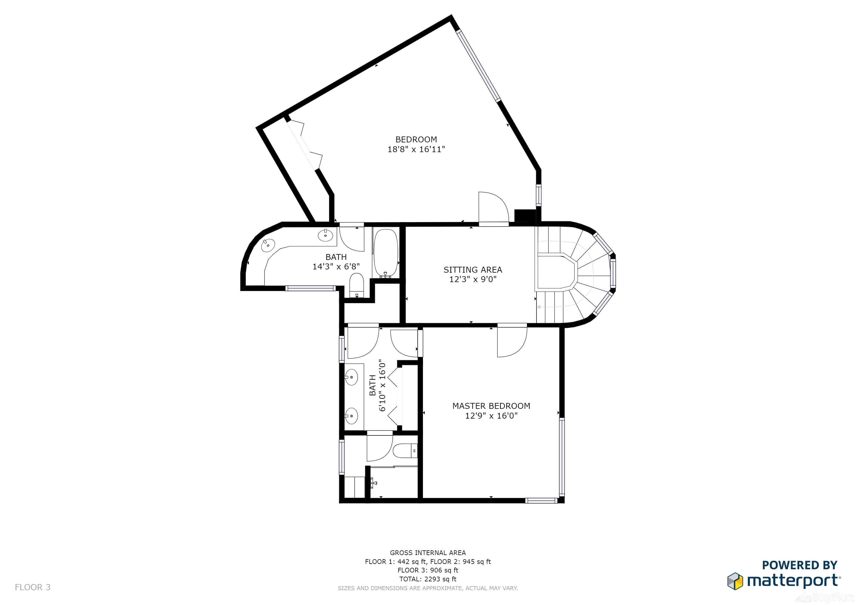 Silverado Lodge 226 Floor Plan Upper Level