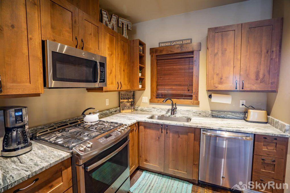 Silver Wolf Penthouse Cook your favorite meal in the spacious and well-equipped kitchen