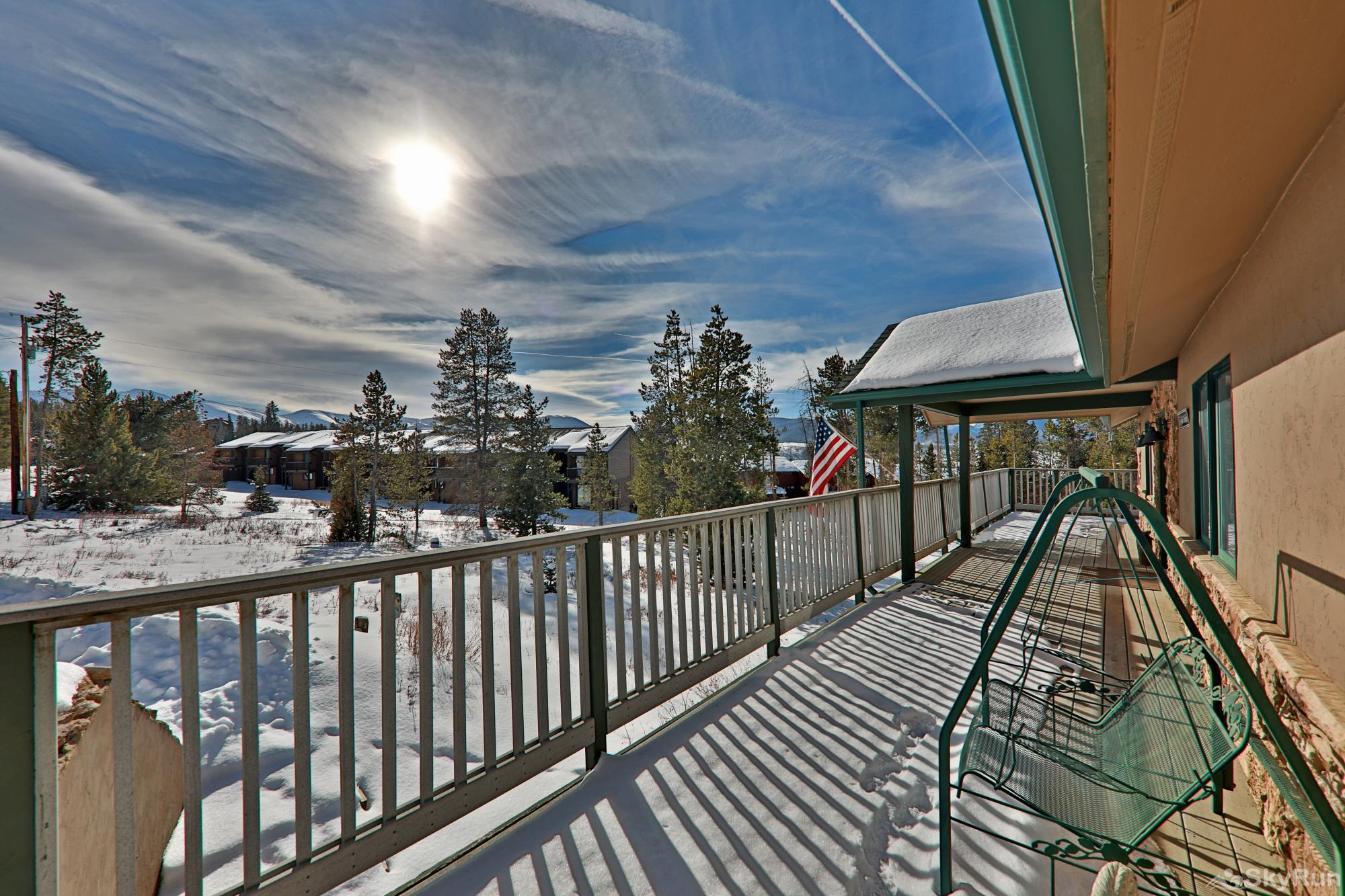 461 Balsh Outdoor Deck Swing with VIEWS