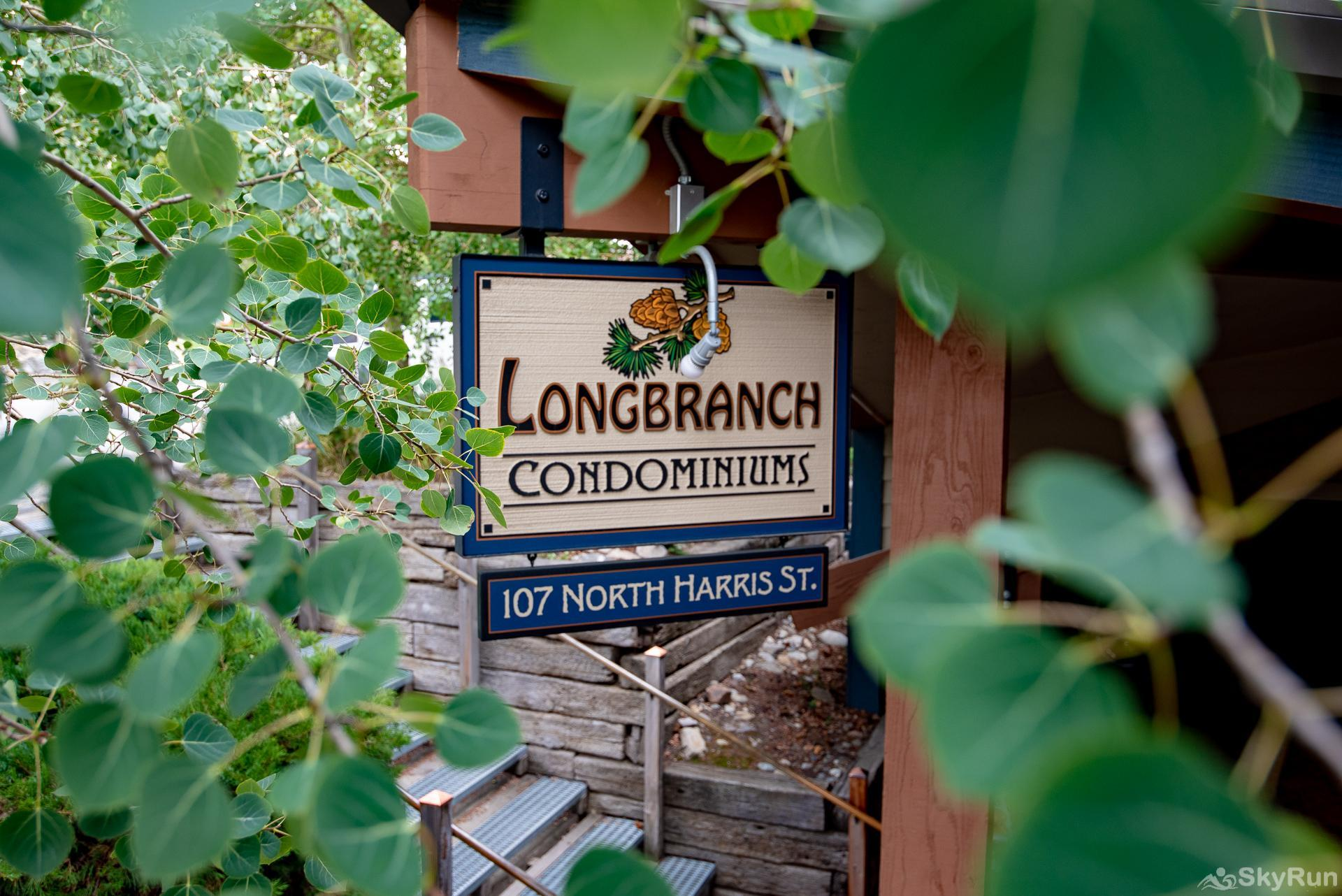 Longbranch 318 Longbranch Condominiums sign