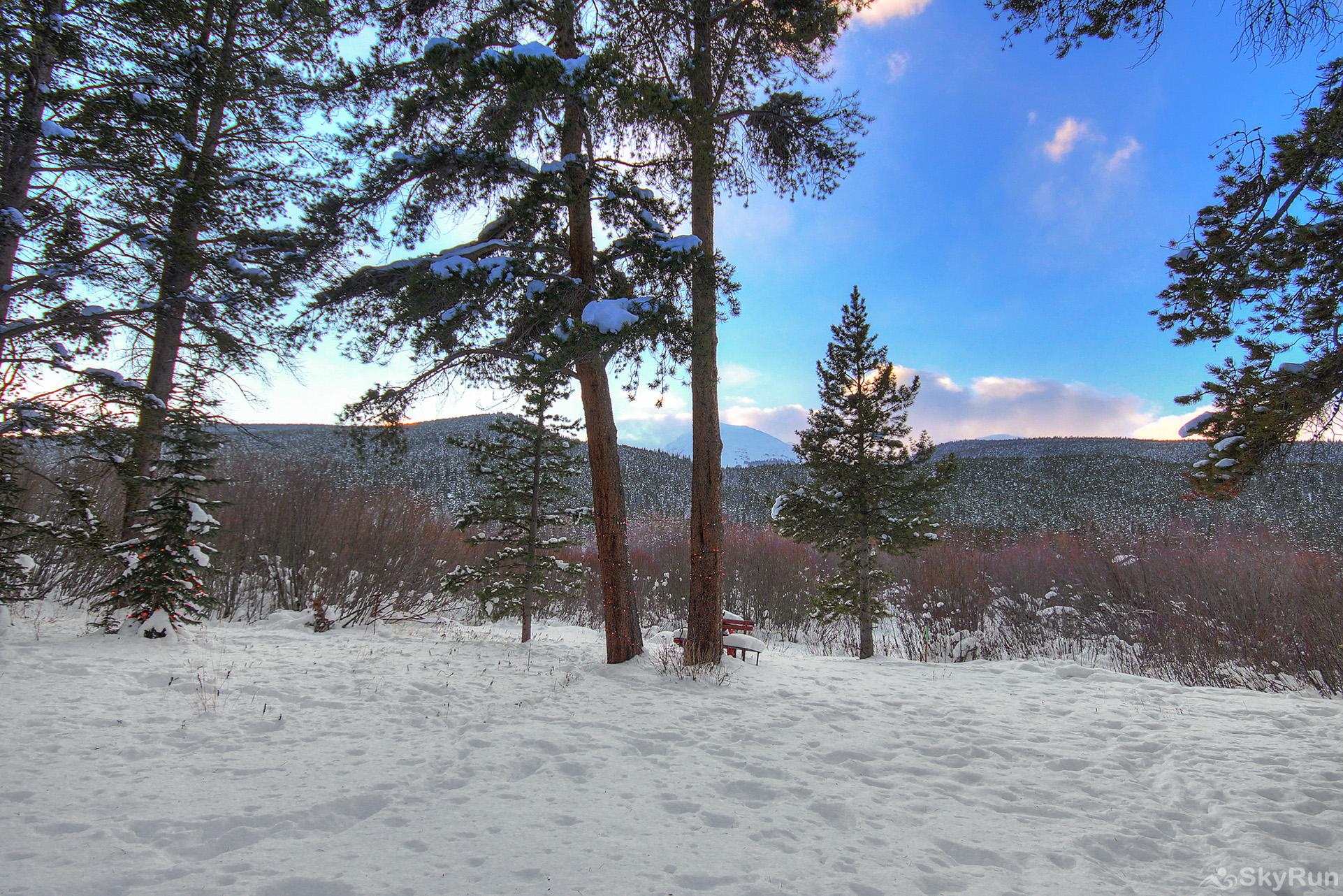 Whispering Pines Enjoy mountain and forest views in all directions