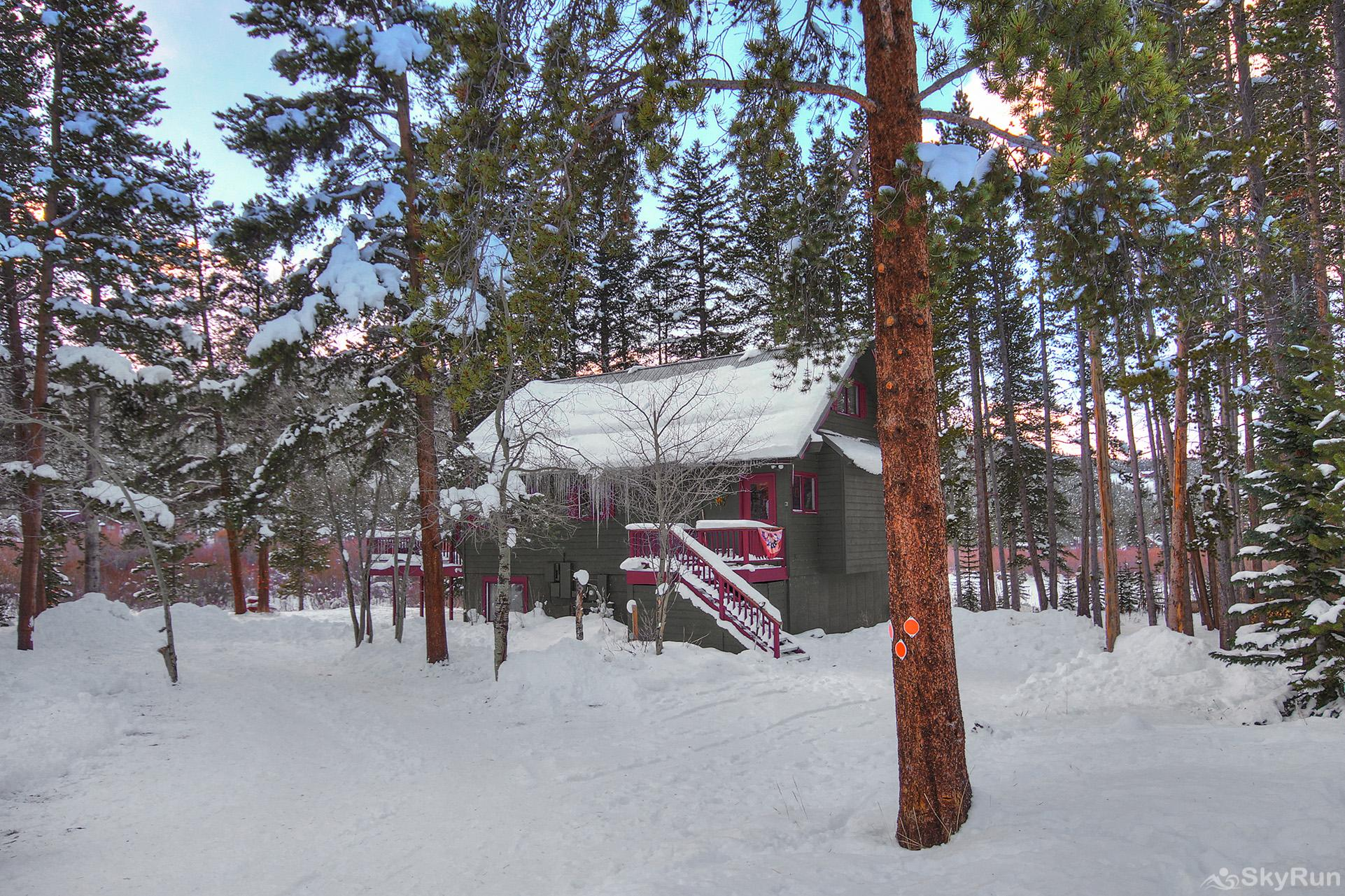 Whispering Pines Escape into a magical winter wonderland