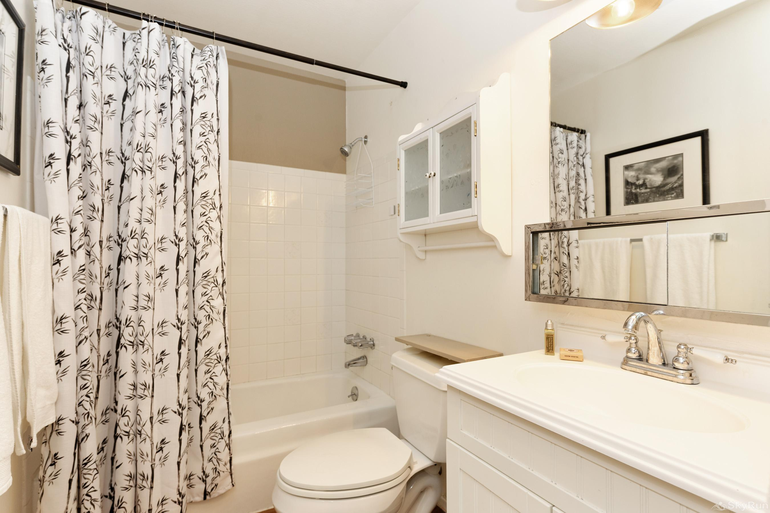 Timber Ridge Unit 2E Bathroom with all the basics waiting for you