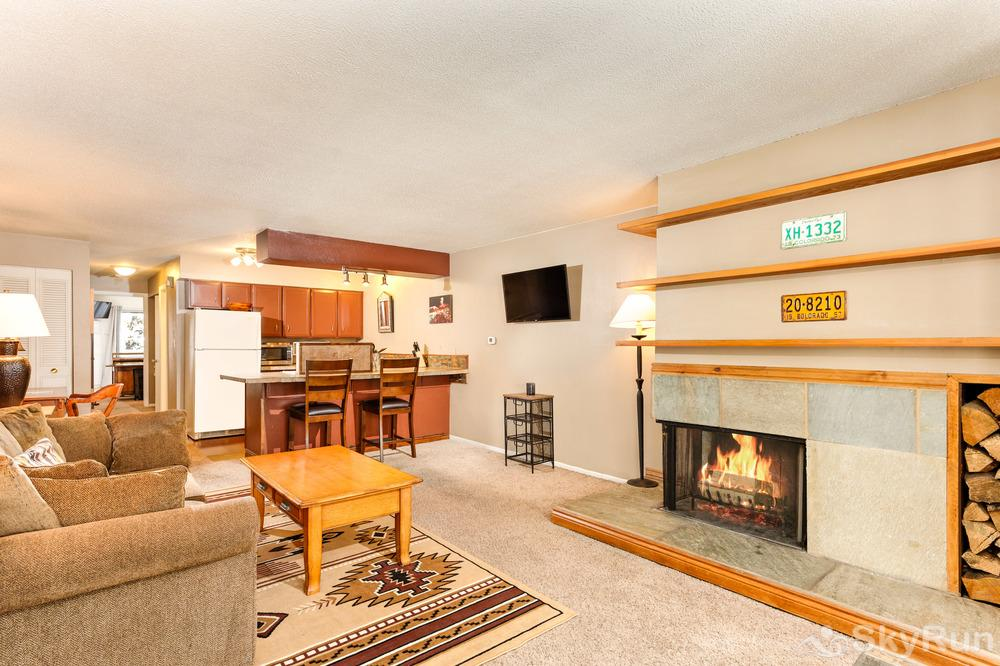 Timber Ridge Unit 2E Who does not love a fire place and pass-through kitchen?