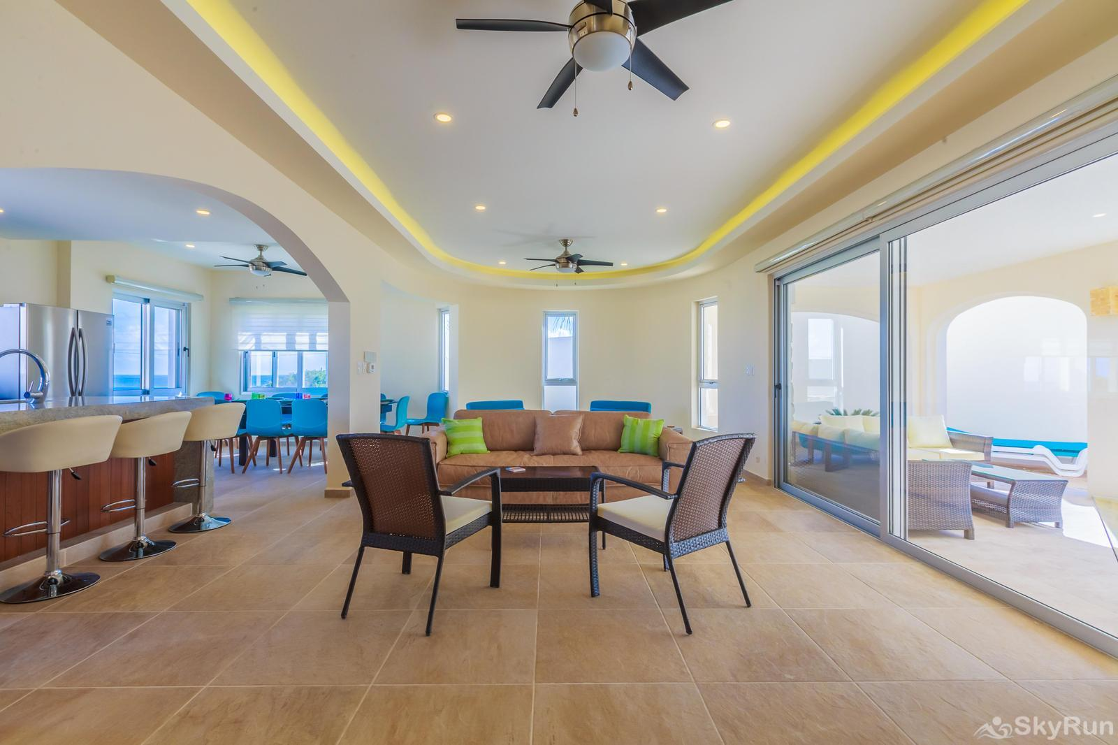NEW and Unique Residencial Home Prime Location Isla Mujeres Dinning Room