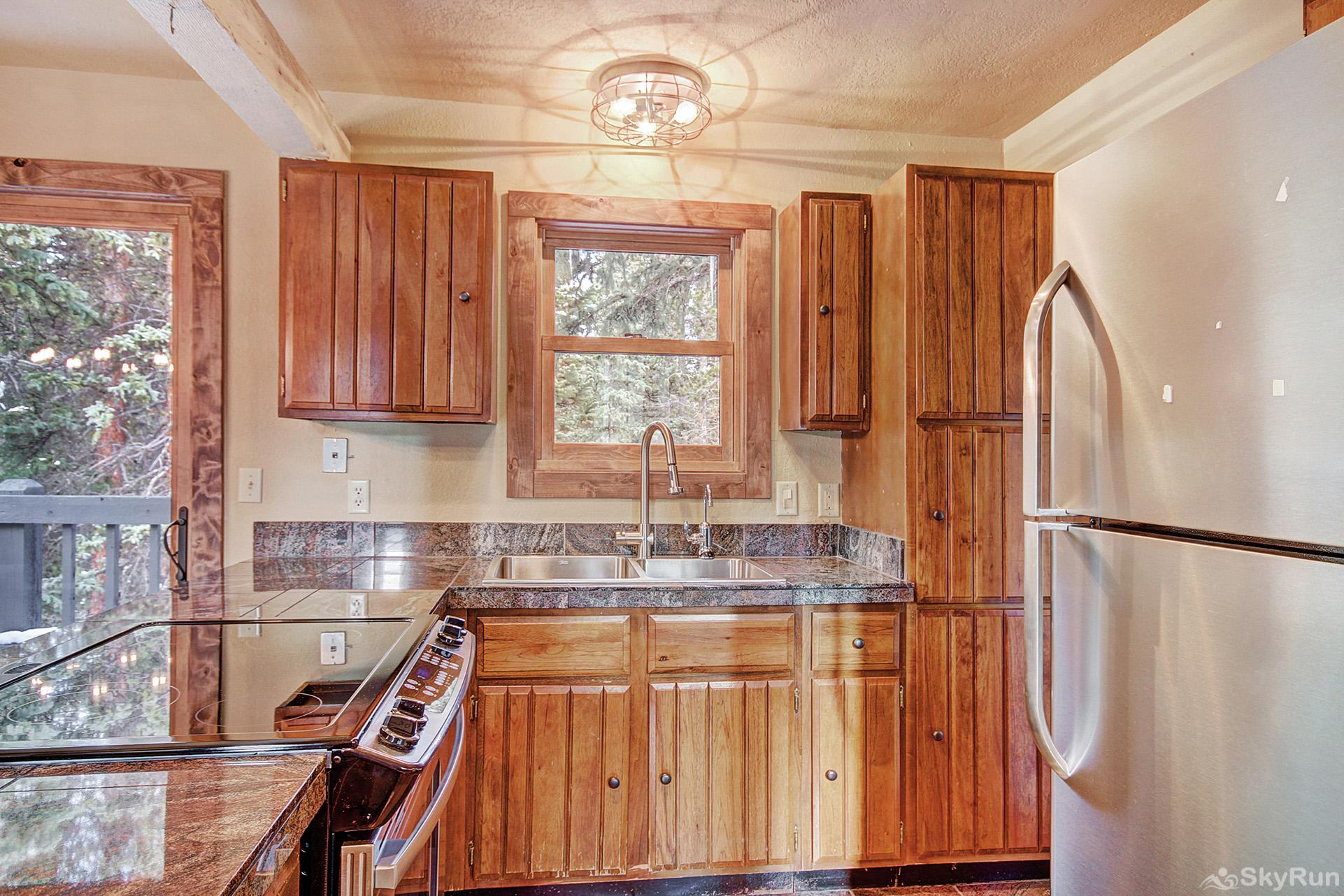 Summit Solitude Estate Additional view of carriage house kitchen