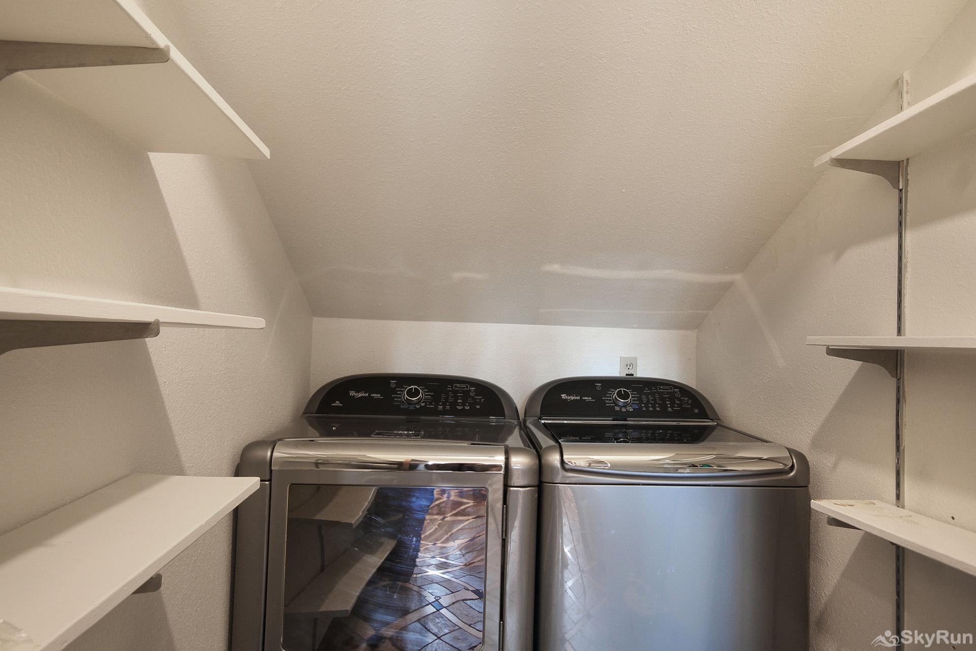 Summit Solitude Estate Convenient in-home washer and dryer