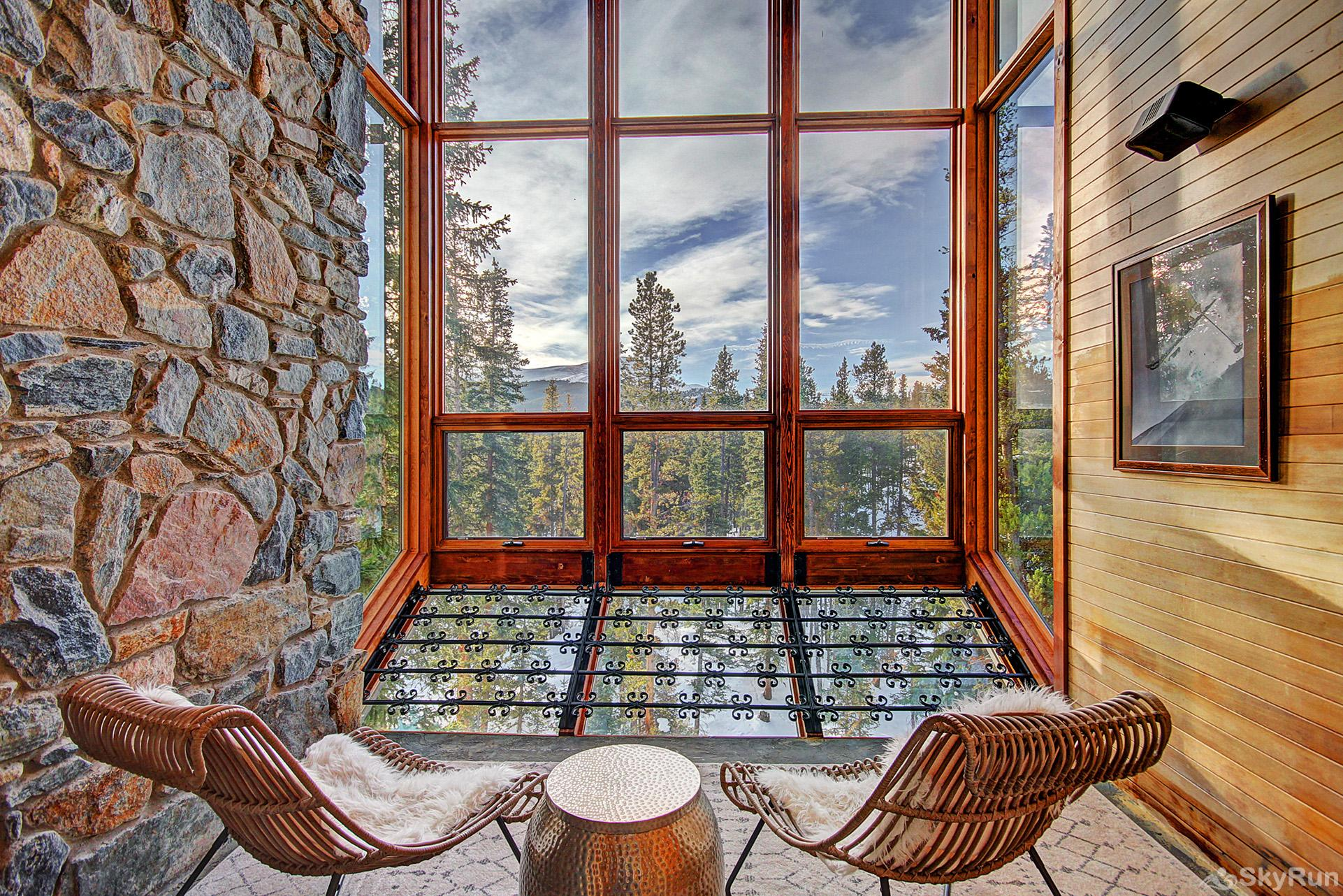 Summit Solitude Estate Relax in the yoga/meditation room