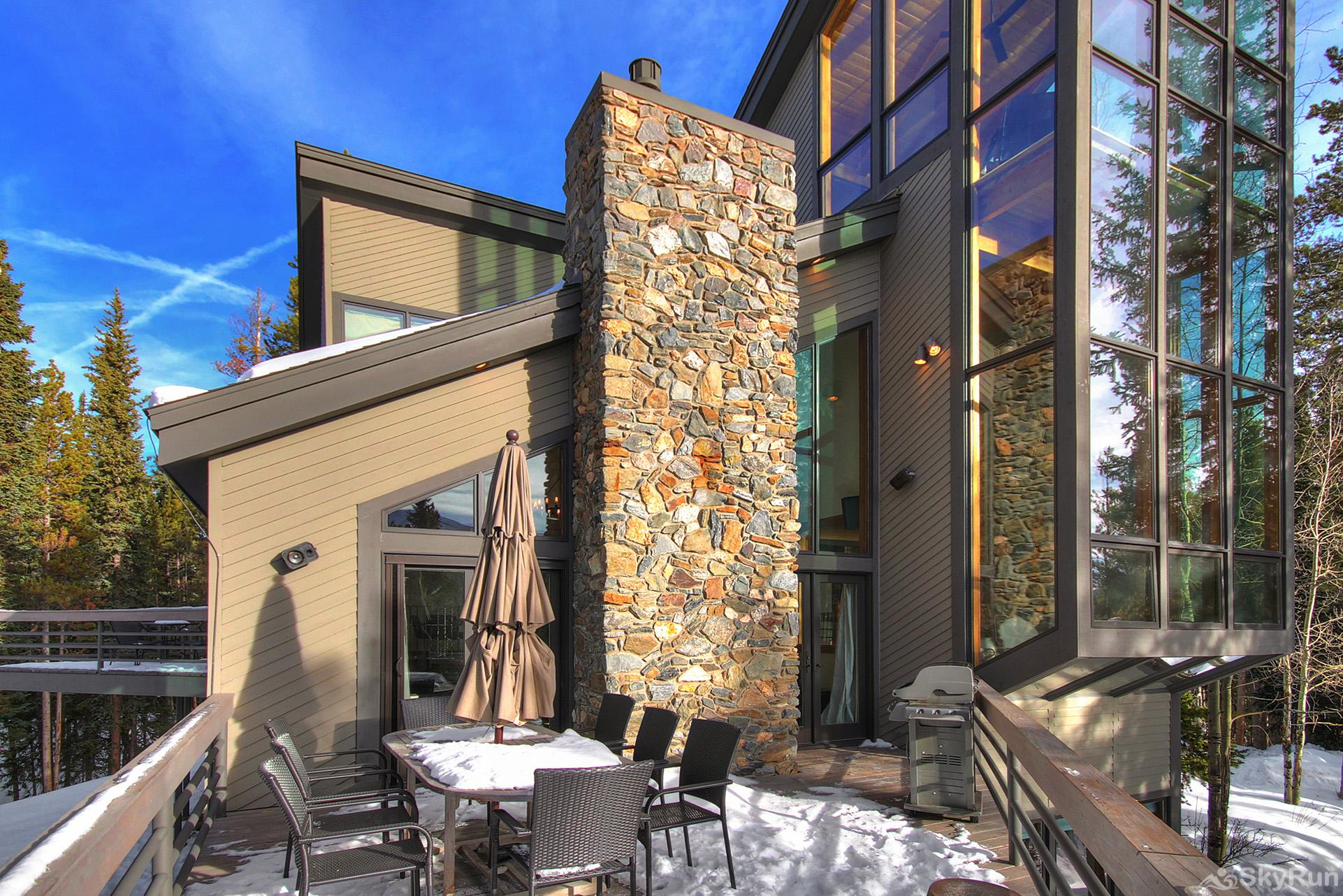 Summit Solitude Estate Enjoy fresh Rocky Mountain air on your private deck