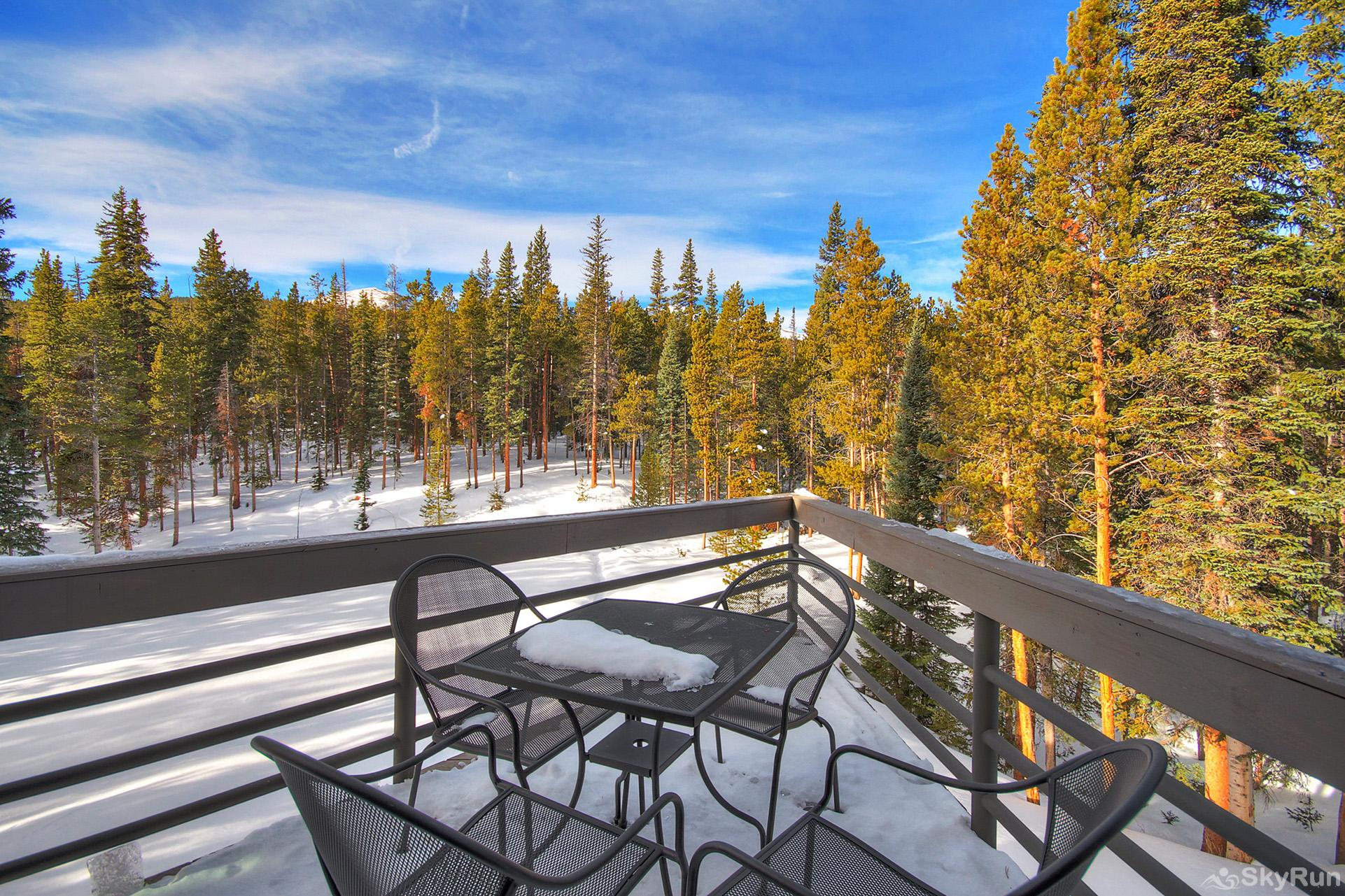 Summit Solitude Estate Large balcony with seating and amazing scenic views
