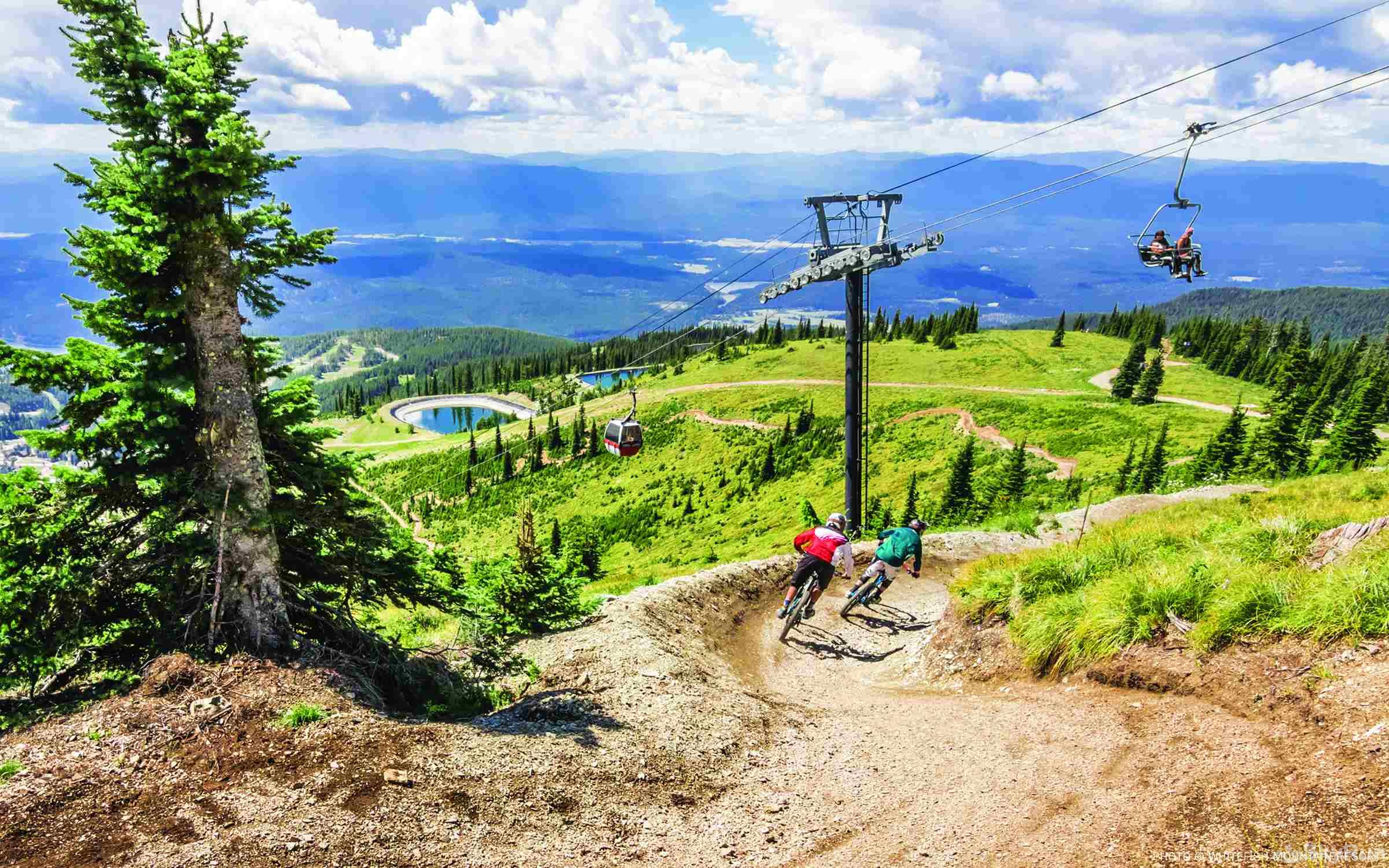 Highland Huckleberry Lodge Did you know that Whitefish Mountain Resort has numerous fun summer activities including mountain biking, zip lines, and fun family activities?