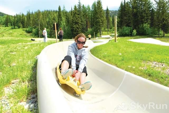 Highland Huckleberry Lodge Whitefish Mountain Resort - Alpine Slide! Fun for all ages!