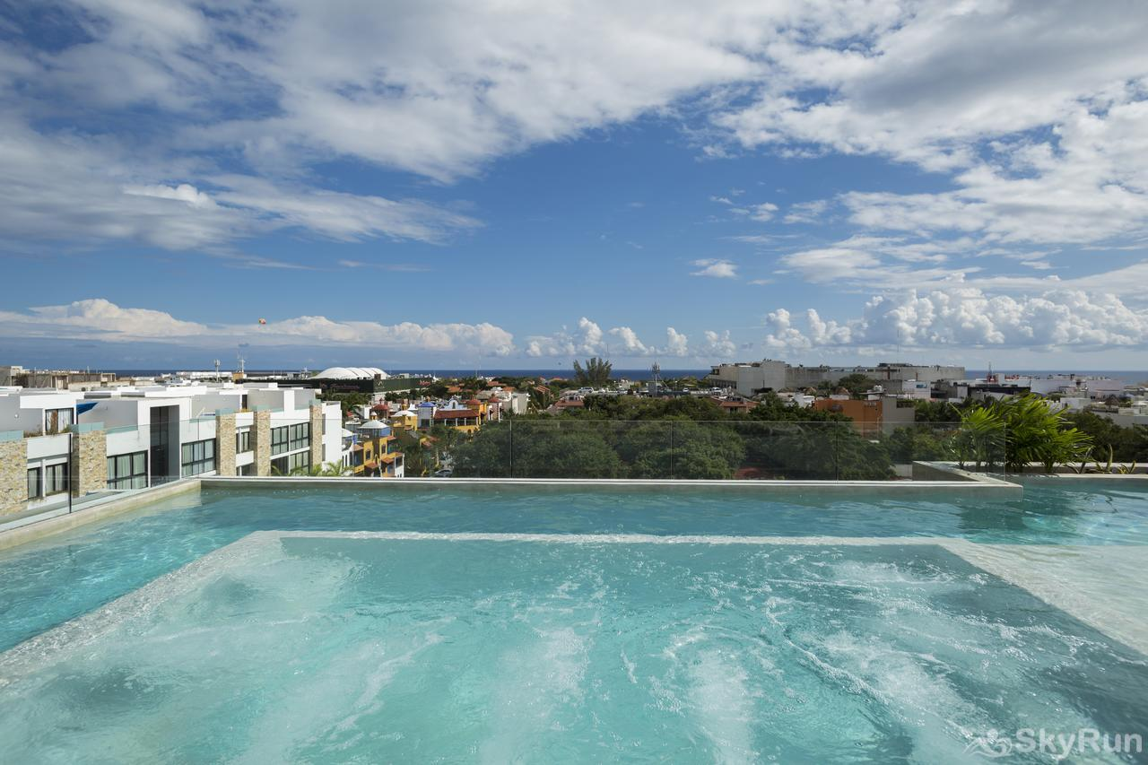 Modern Beach Anah 006D | Downtown Playa del Carmen Luxury Condo at Private Community close to 5th. Ave