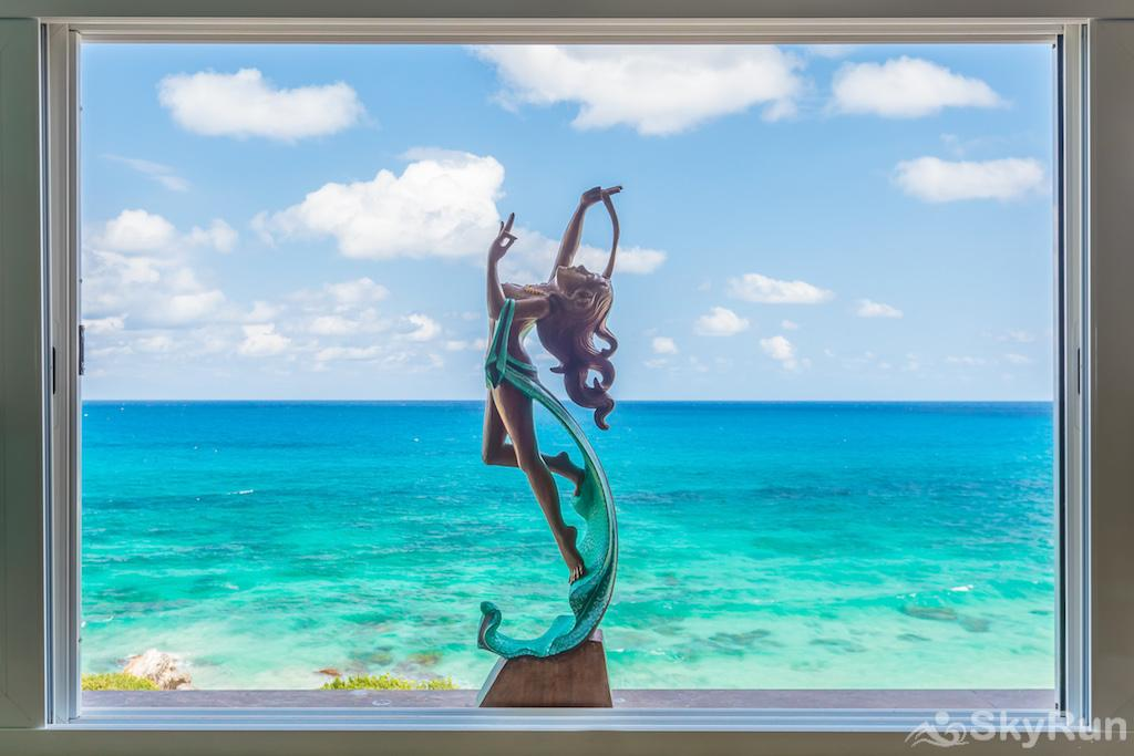 NEW Romantic getaway condo 1 bedroom Isla Mujeres View from the window