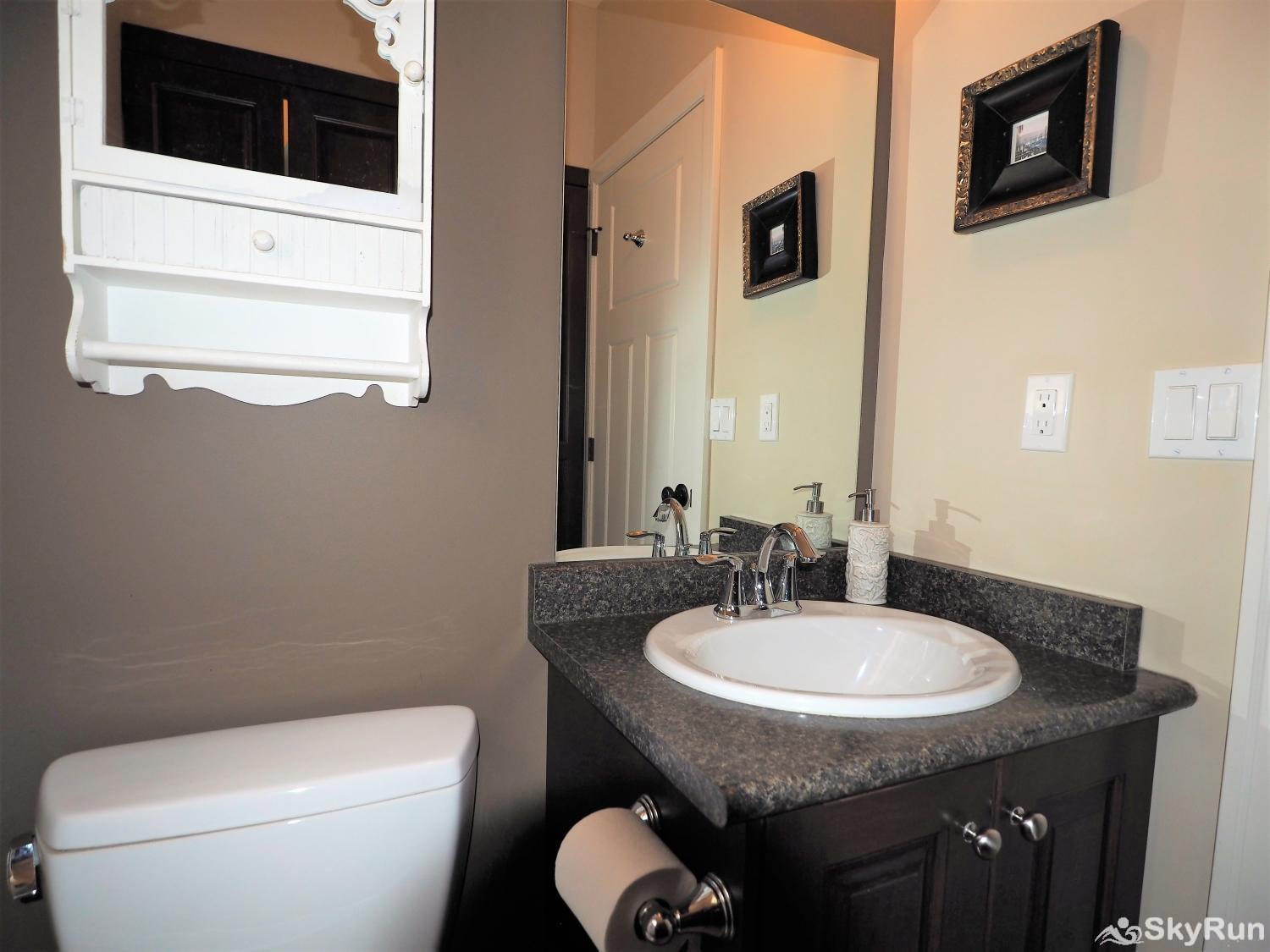 Old Summerland 4 bedroom townhouse The powder room is on the main floor