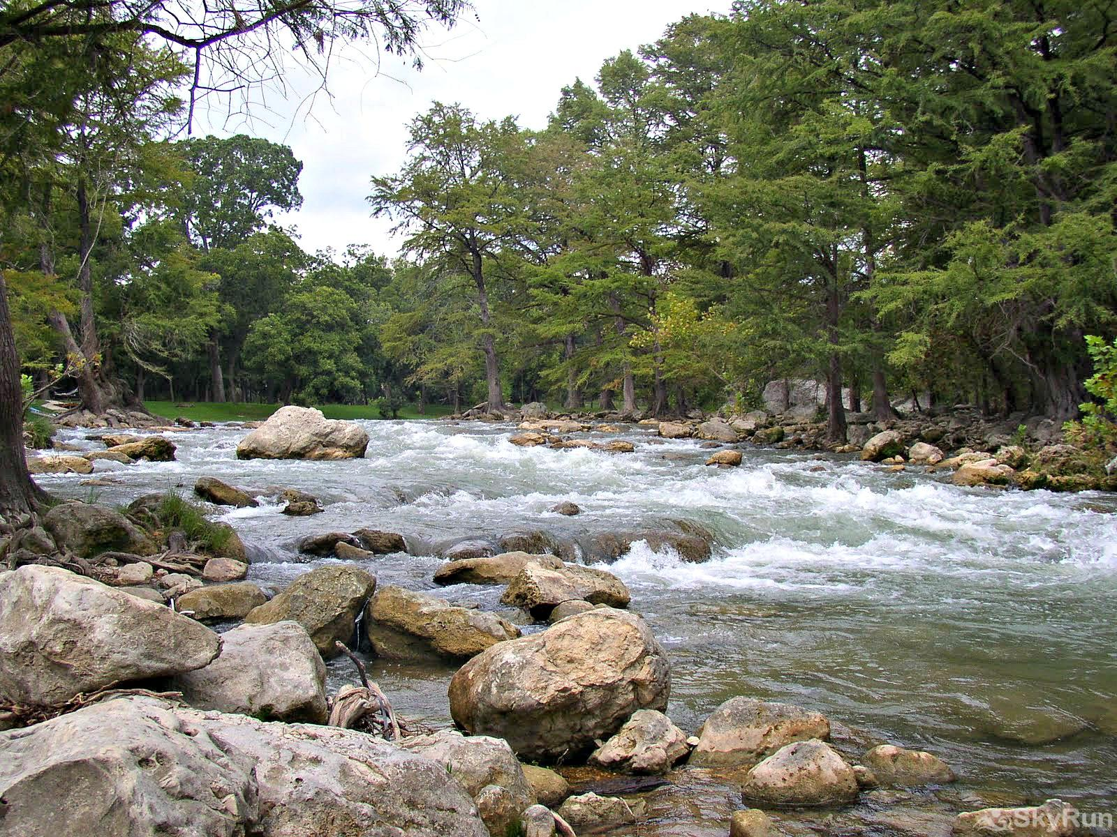 LEDGEROCK POINTE The cool, refreshing Guadalupe River