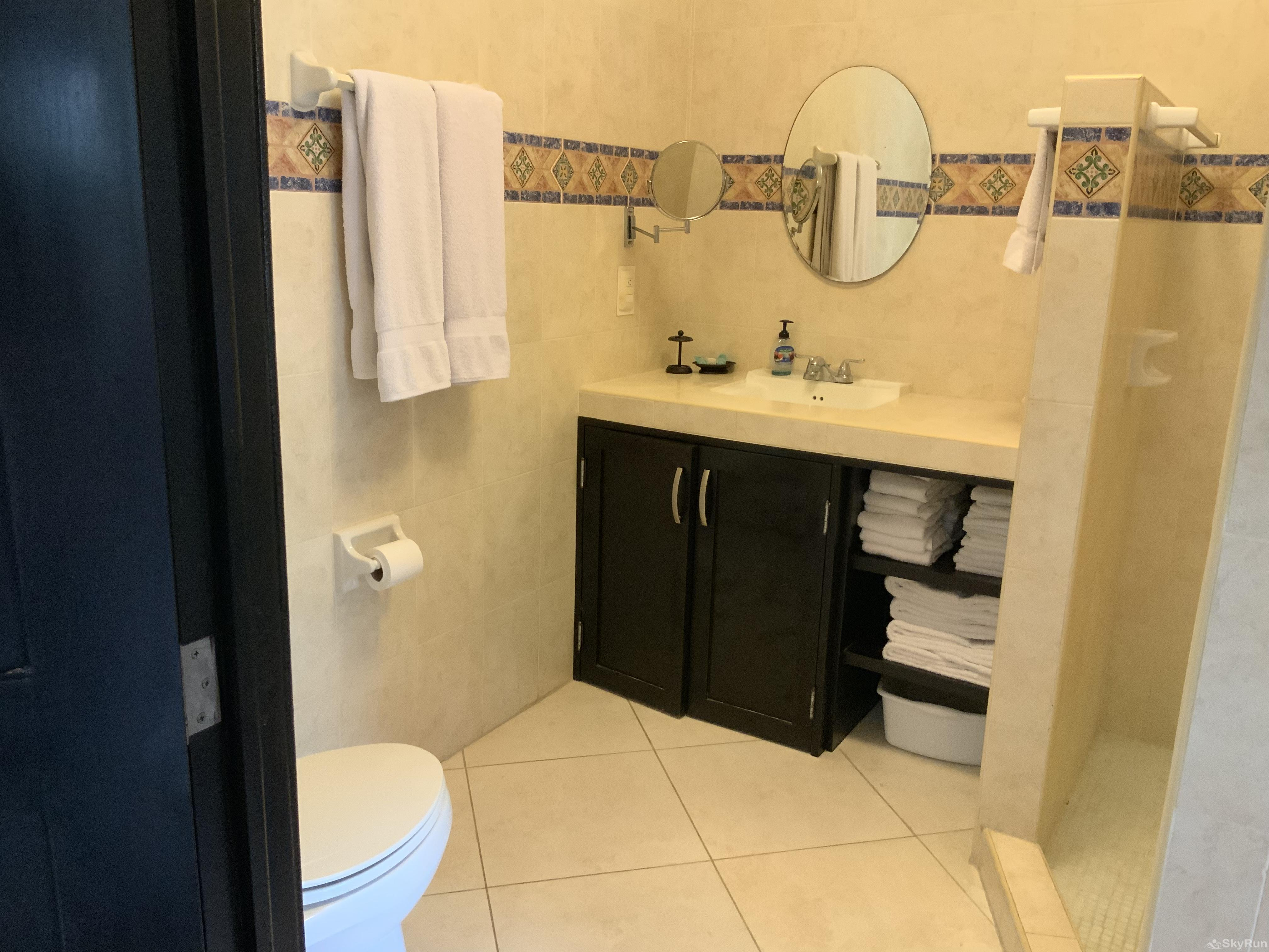 Beach Condo Casa de Canciones Rosa Blanca Playacar 2bdr Outdoor Pool Bathroom in Playacar condo