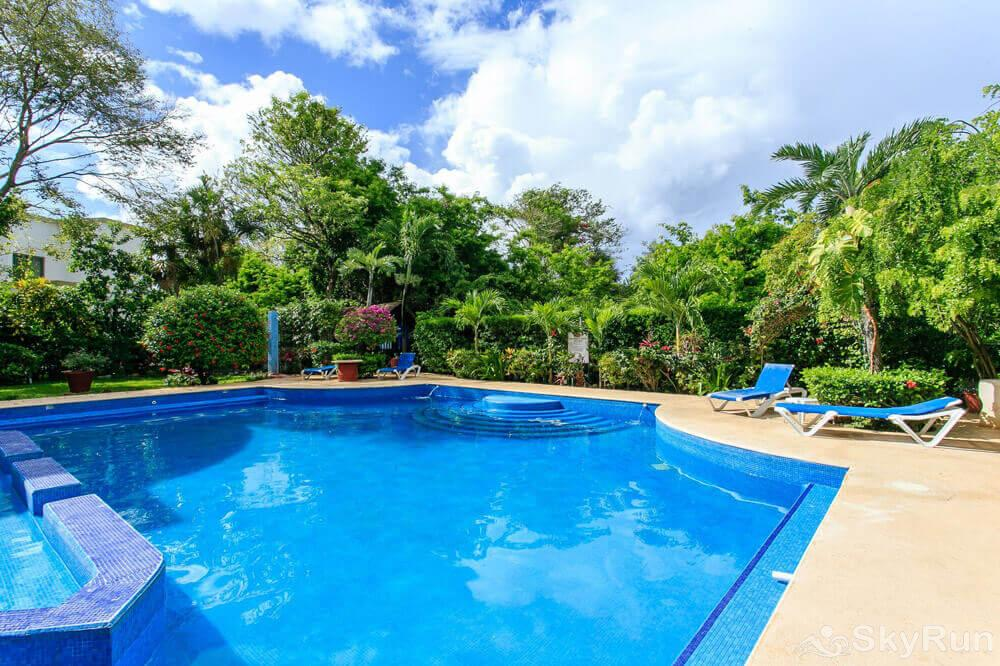 Casa de Canciones Playacar Private Pool in Beach Condo