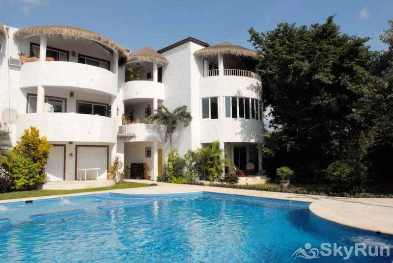 Casa de Canciones Playacar Beach Condo at private Community