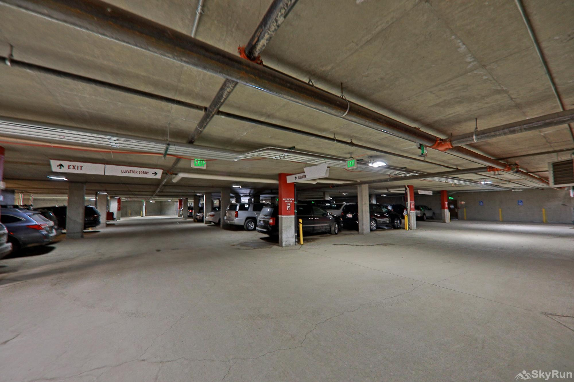 Founders 2 Bedroom Parking Garage