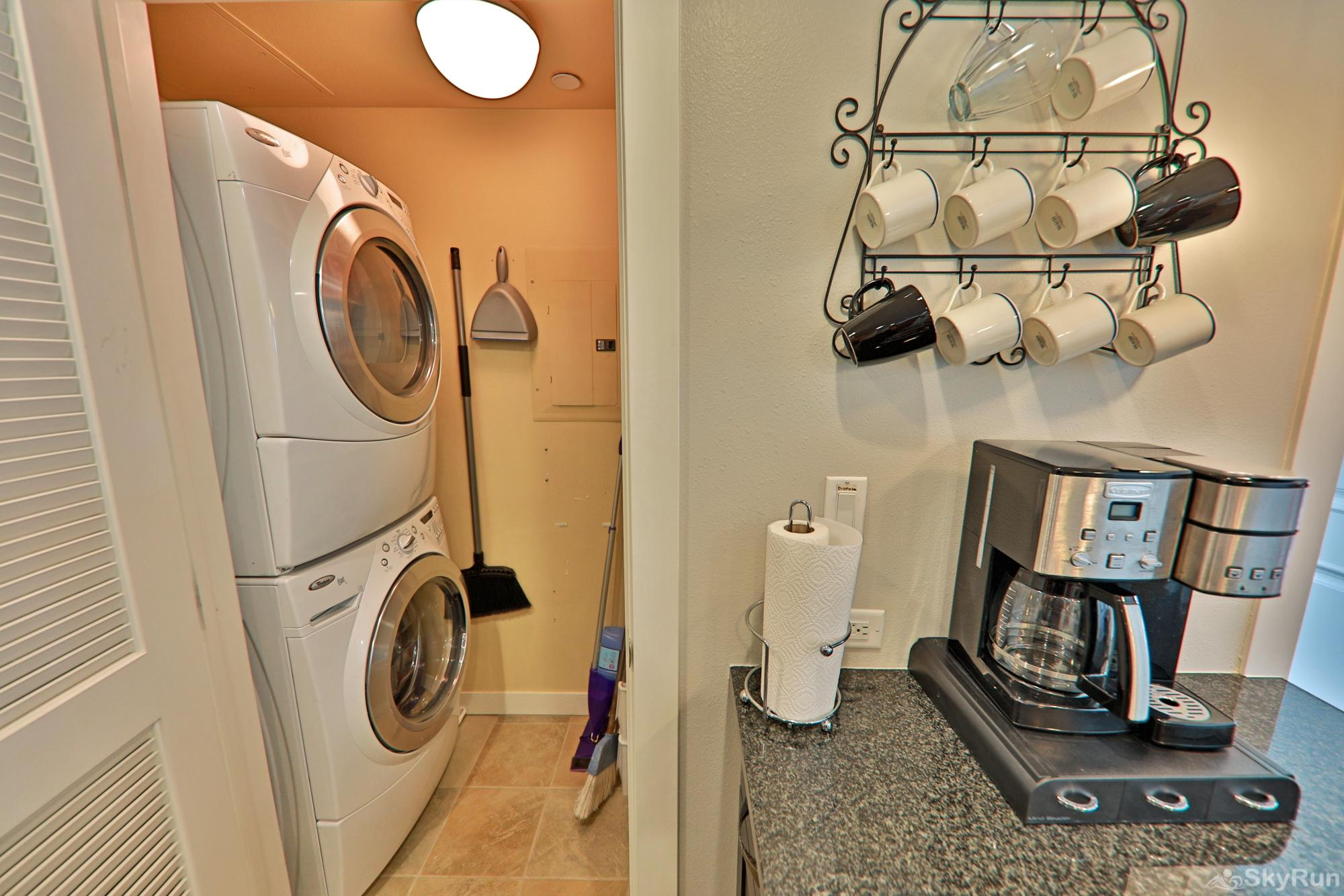Founders 2 Bedroom Laundry!