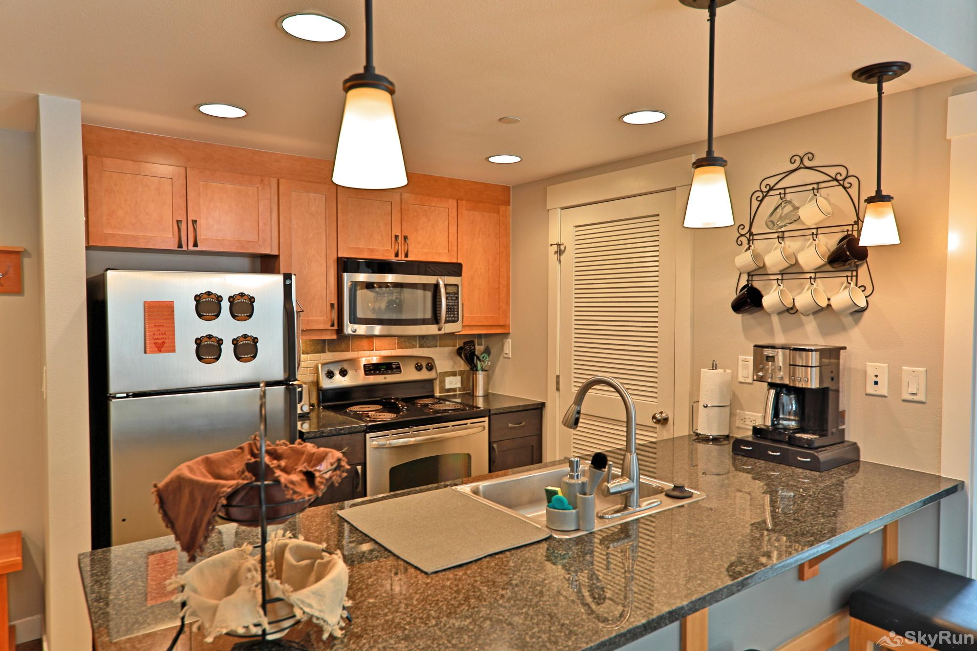 Founders 2 Bedroom Fully Stocked Kitchen