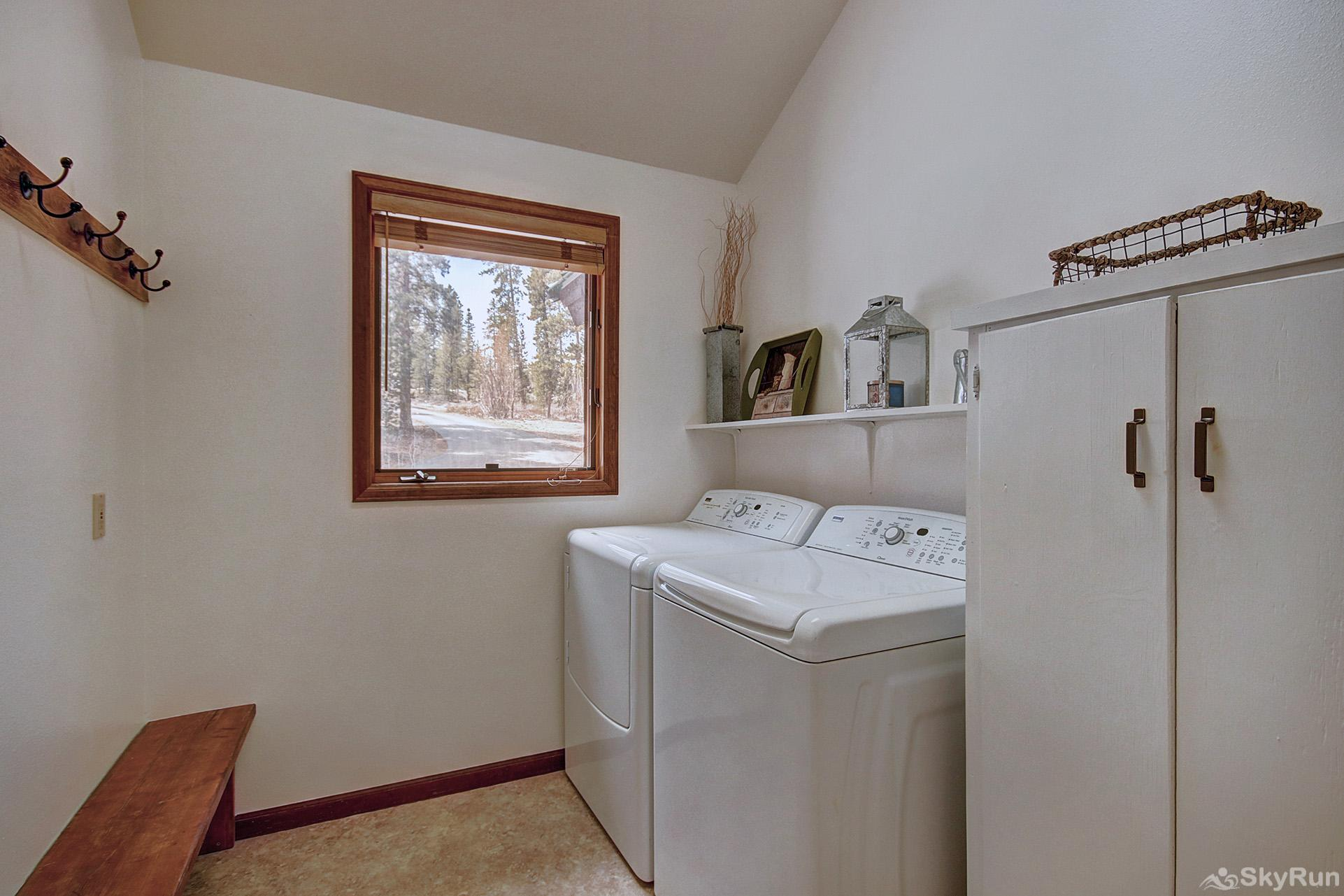 Aspen Heights Lodge Convenient in-home washer and dryer