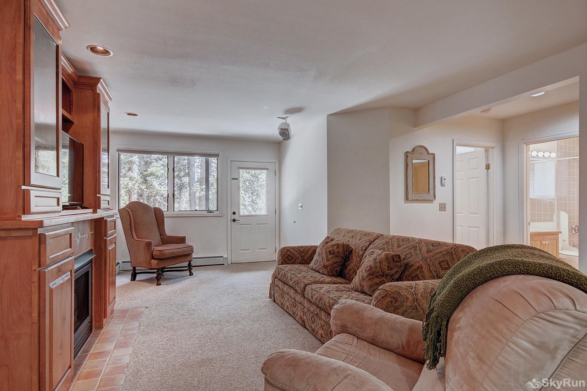 Aspen Heights Lodge Second living room in lower level