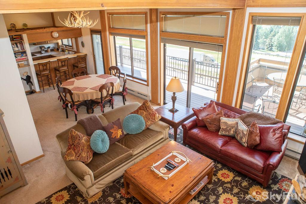 15 Chambertin Townhomes Aerial Living Room