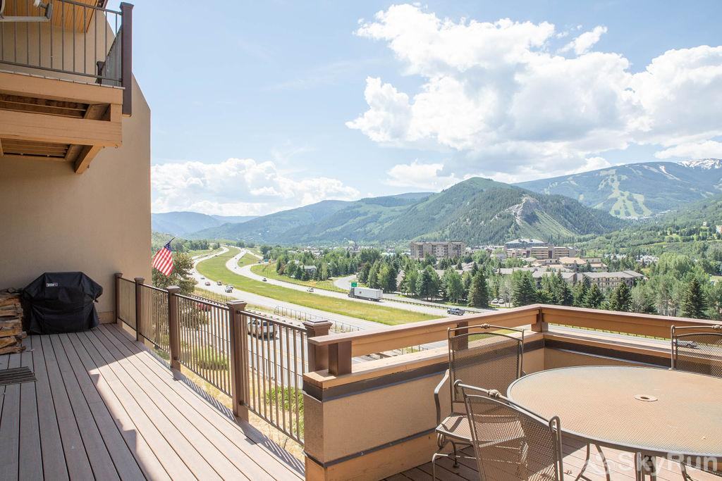 15 Chambertin Townhomes Deck off of Kithen/Living Room