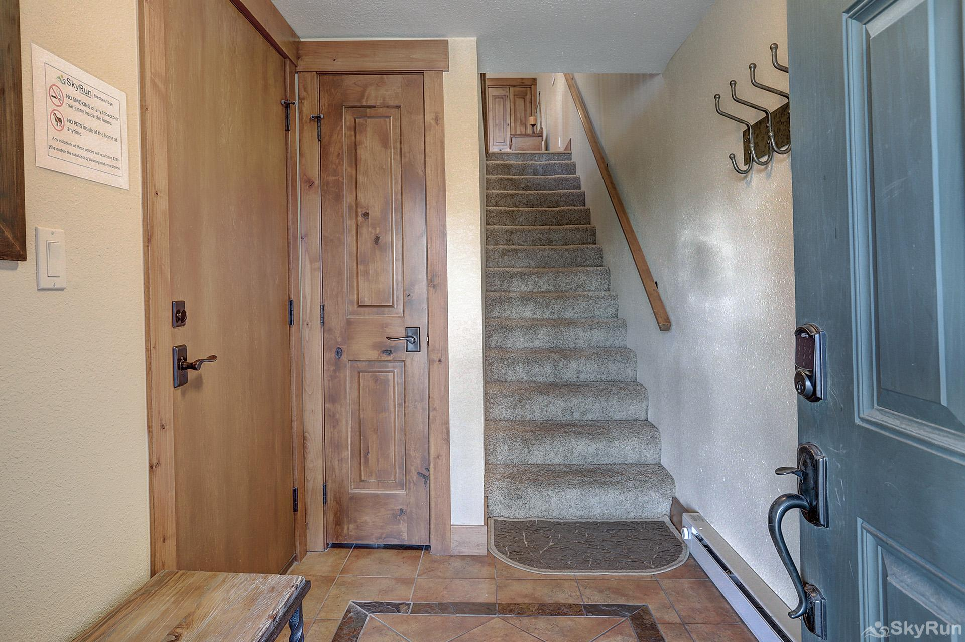 Happy Trails Entryway with room for coats and boots