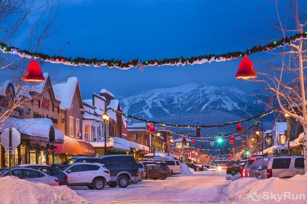 Whispering Pines Chalet Downtown Whitefish even has great views of the ski resort.  Come and explore!