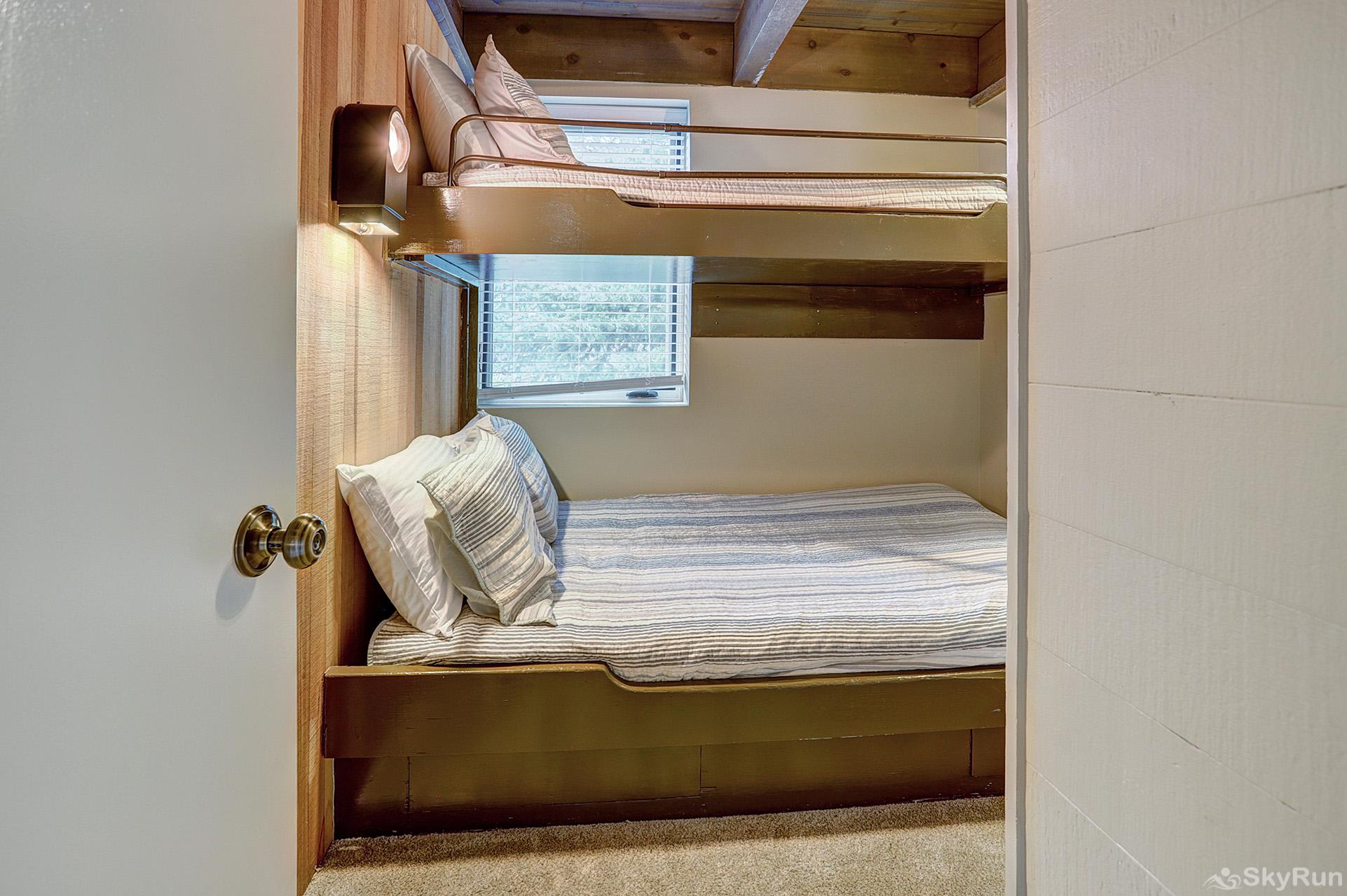 Mill Run 3 Twin over queen bunk bed
