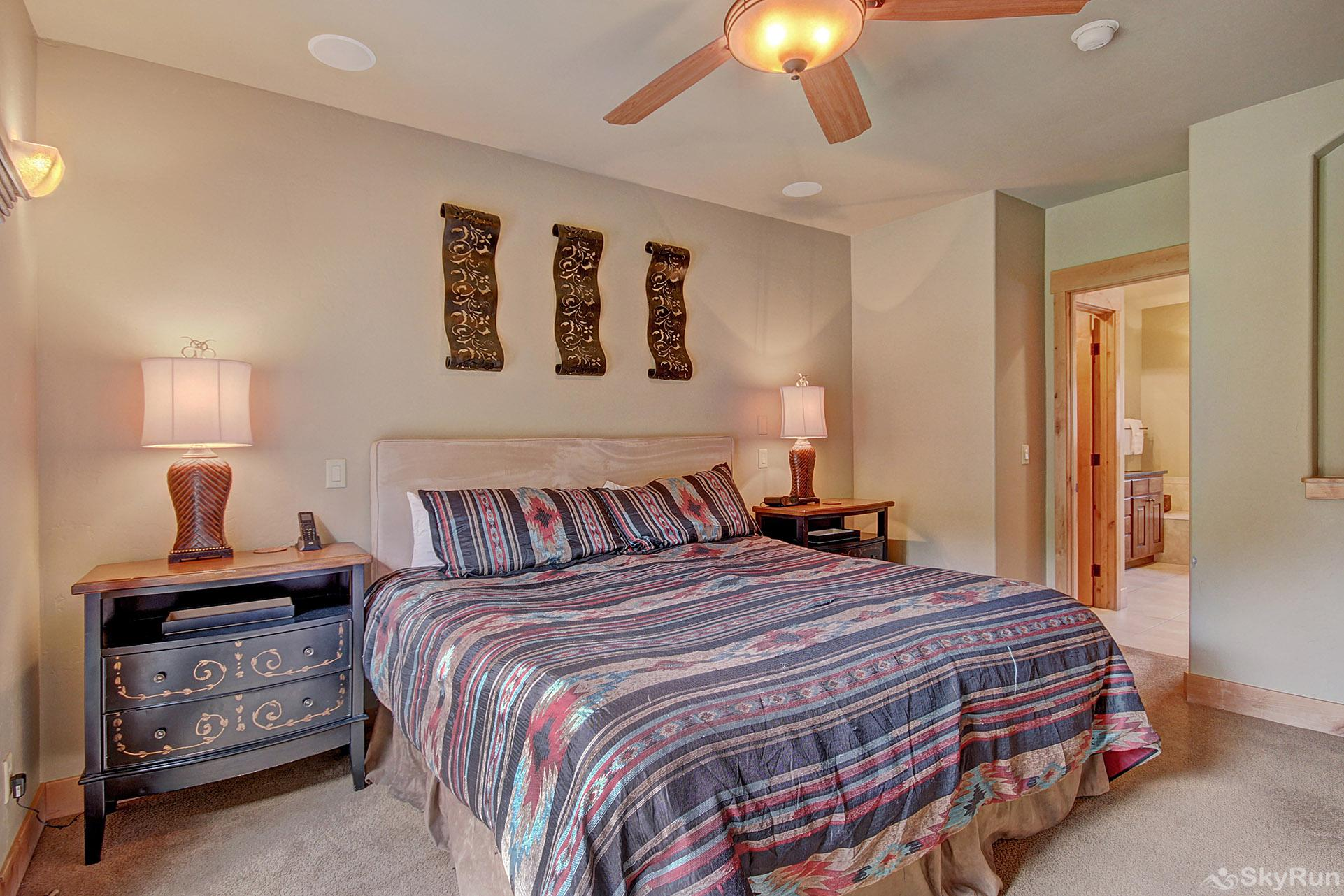 39C Union Creek Townhomes West Master Bedroom