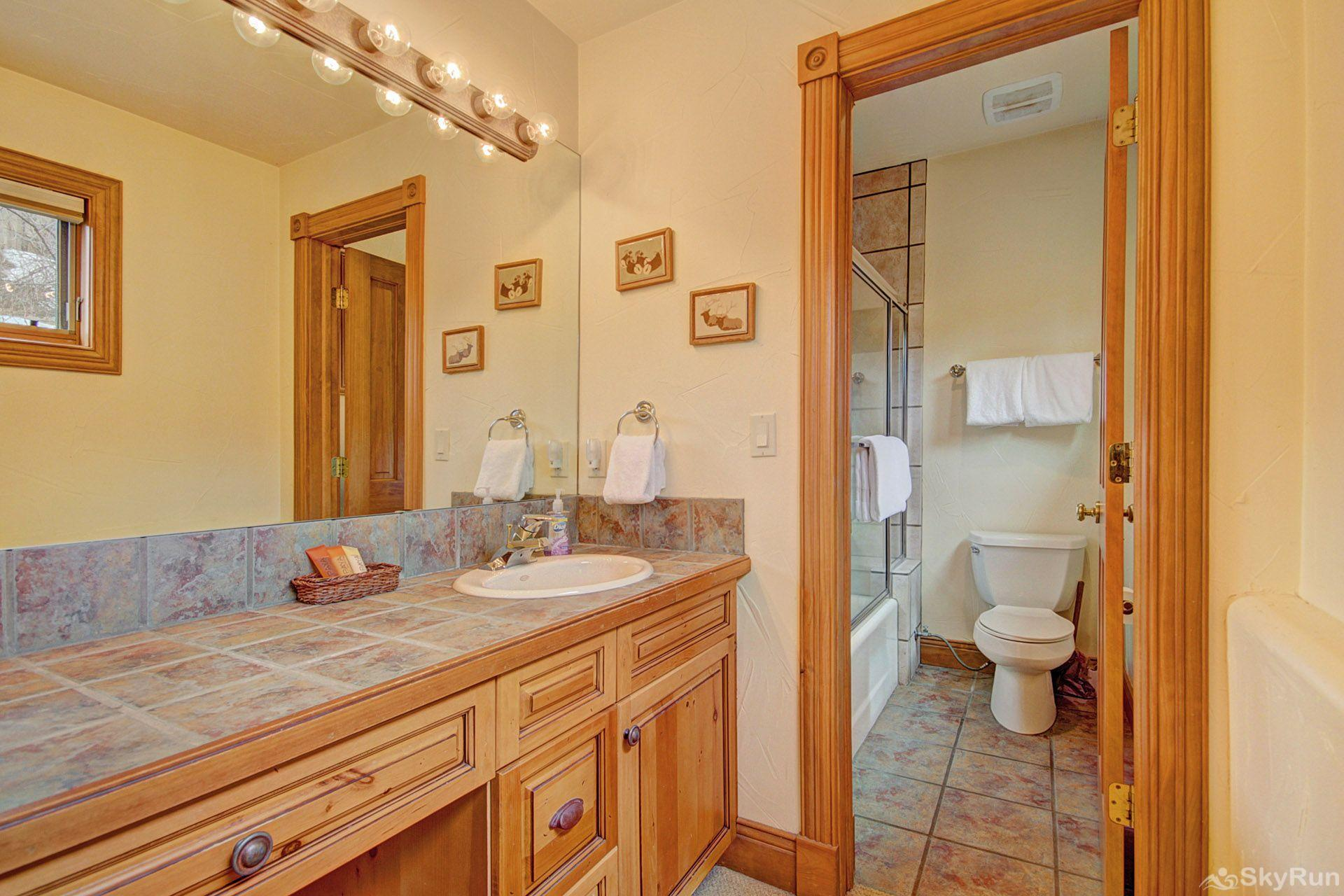 CrossTimbers 2784 The kids will love the large mirror in their bathroom.