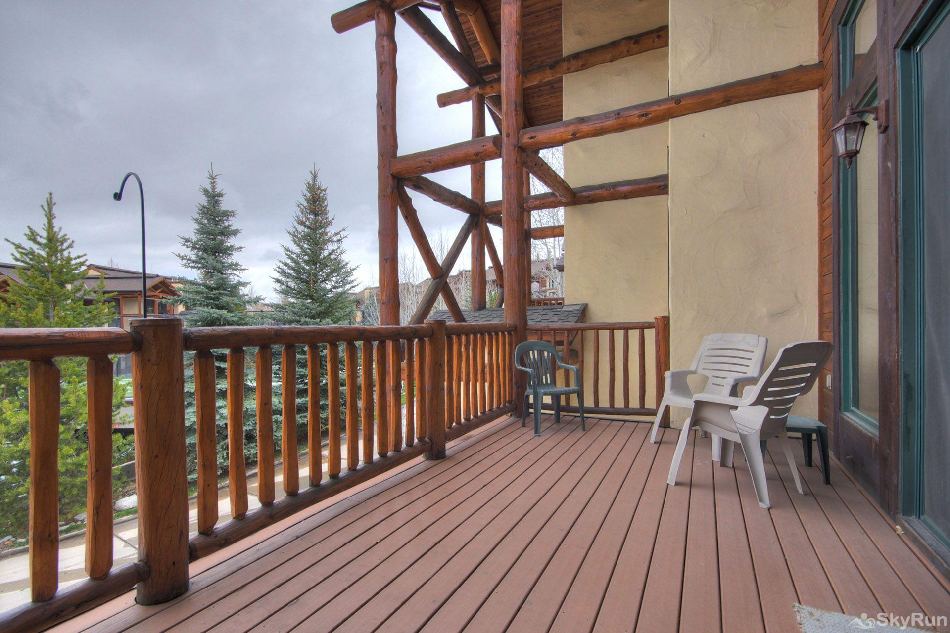 CrossTimbers 2784 Enjoy the mountain views from the huge private deck.