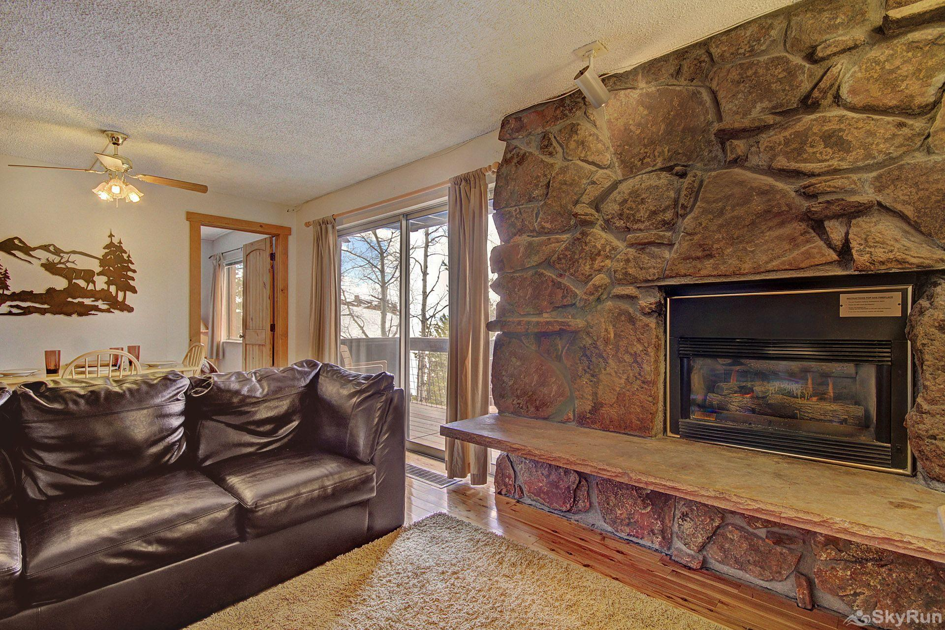 Storm Meadows East E31 We can't get enough of this beautiful fireplace.