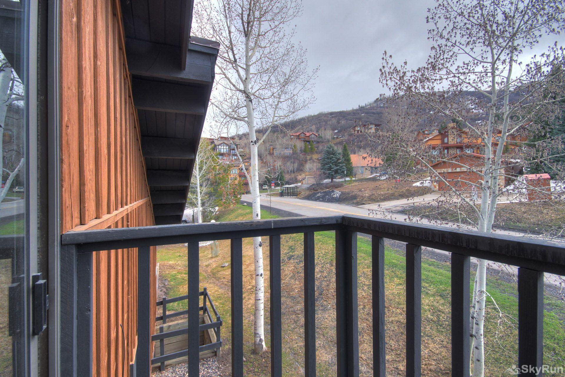Herbage Townhomes E1 Check out your private mountain views from the master bedroom's balcony!
