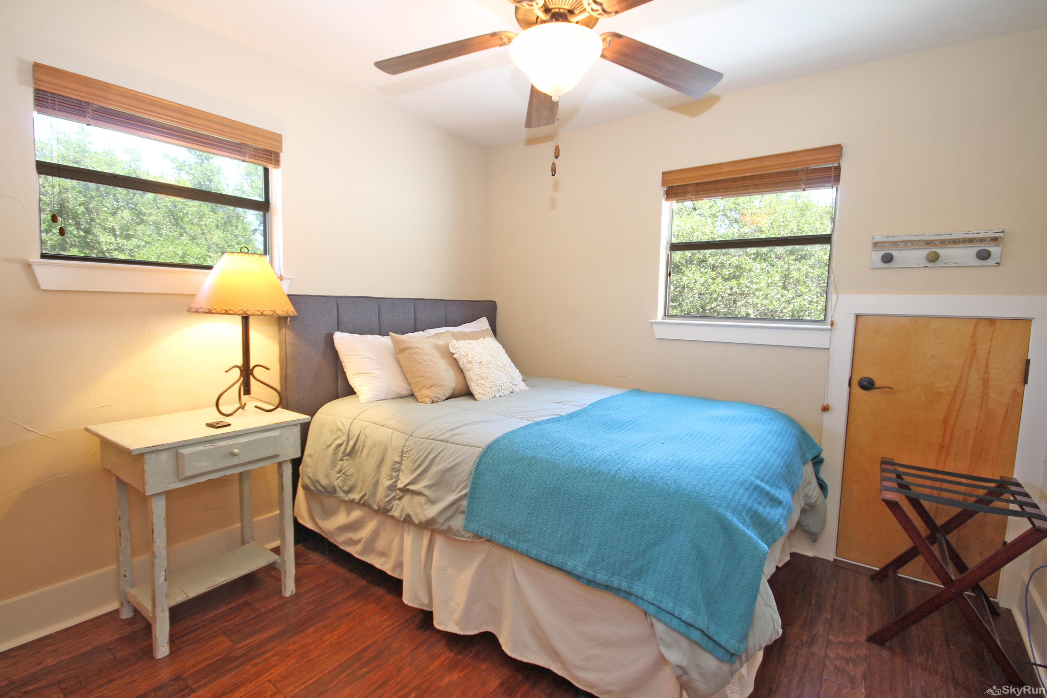HILLTOP HIDEAWAY Second Bedroom with Queen Bed