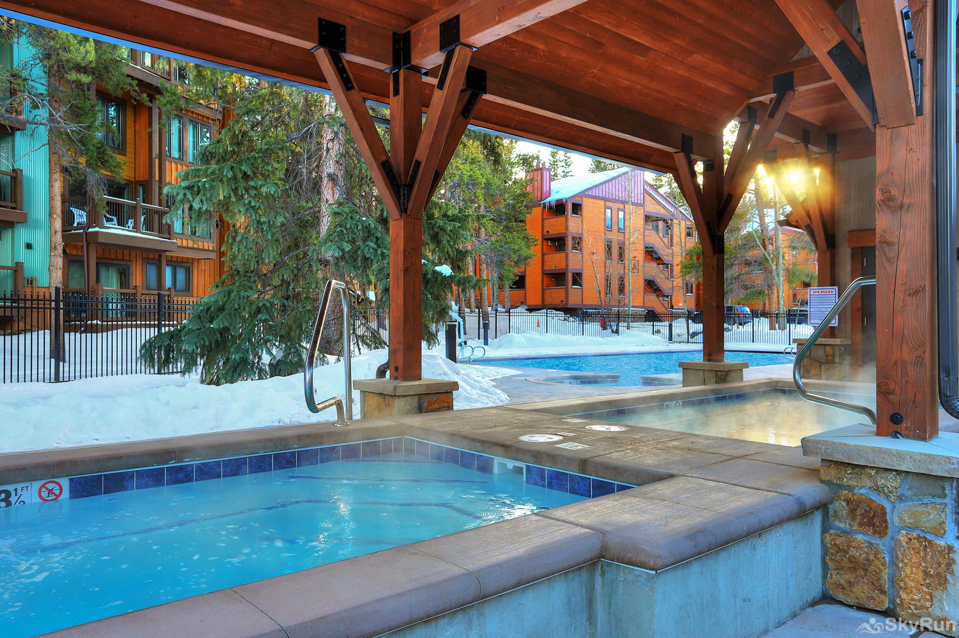 Powderhorn C302 Additional view of outdoor hot tubs