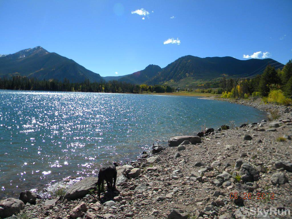 127 Lookout Ridge Enjoy nearby Lake Dillon with the dog