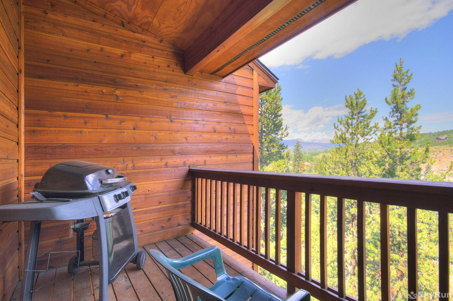 127 Lookout Ridge Private deck with gorgeous views.