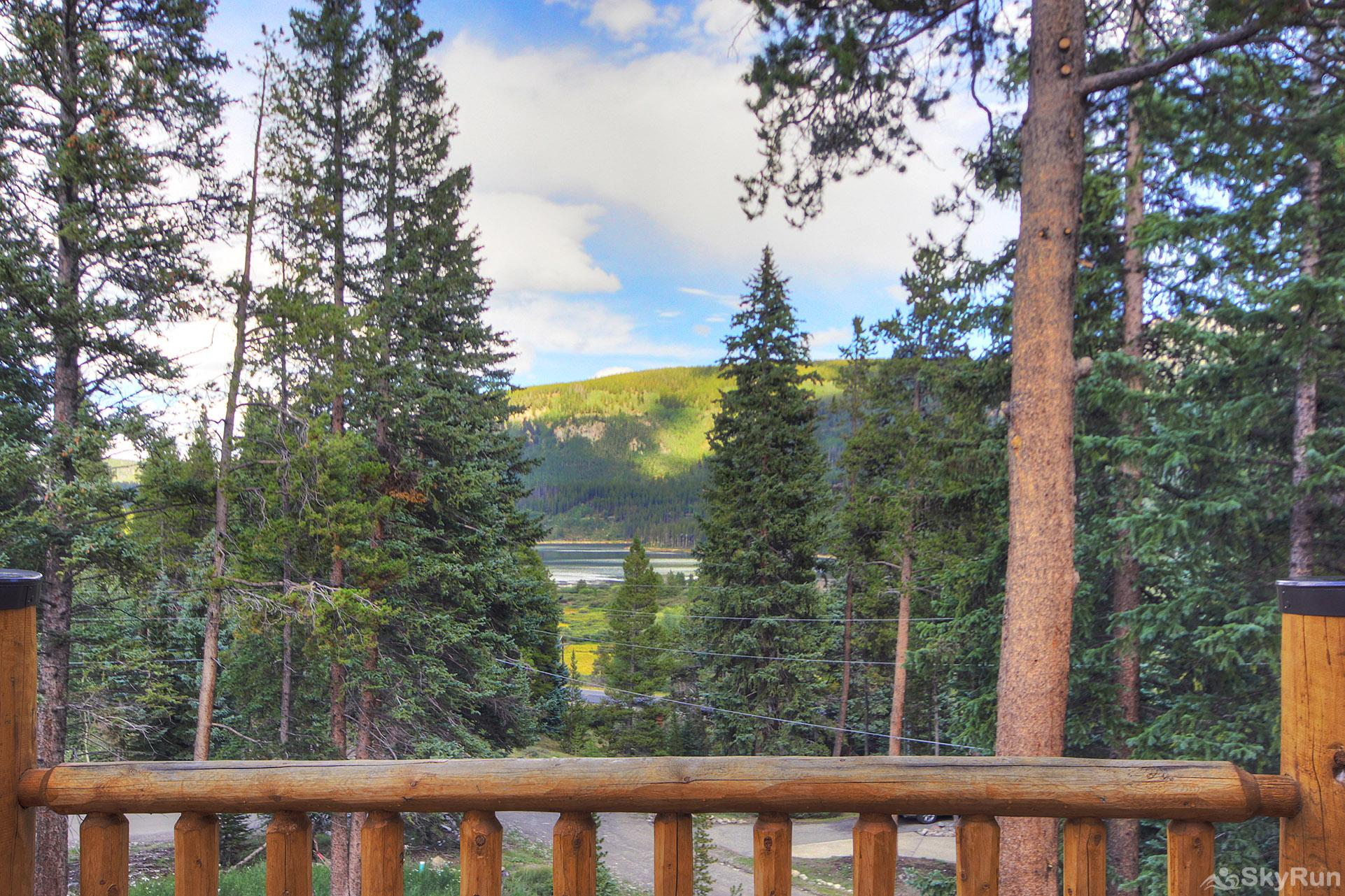 Grand Moose Lodge View off front deck